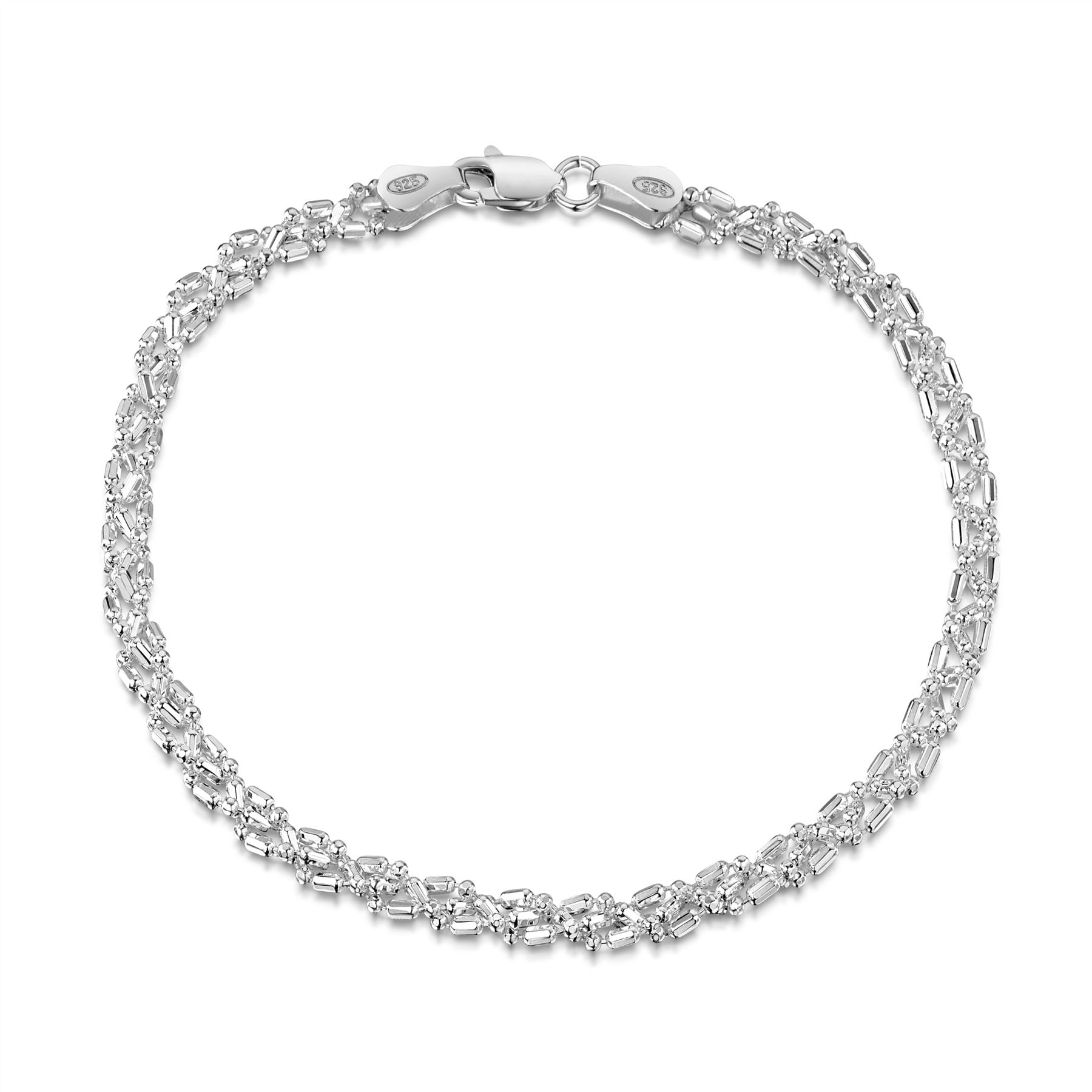 Amberta-Pulsera-en-Autentica-Plata-De-Ley-925-Brazalete-Precioso-para-Mujer miniatura 83