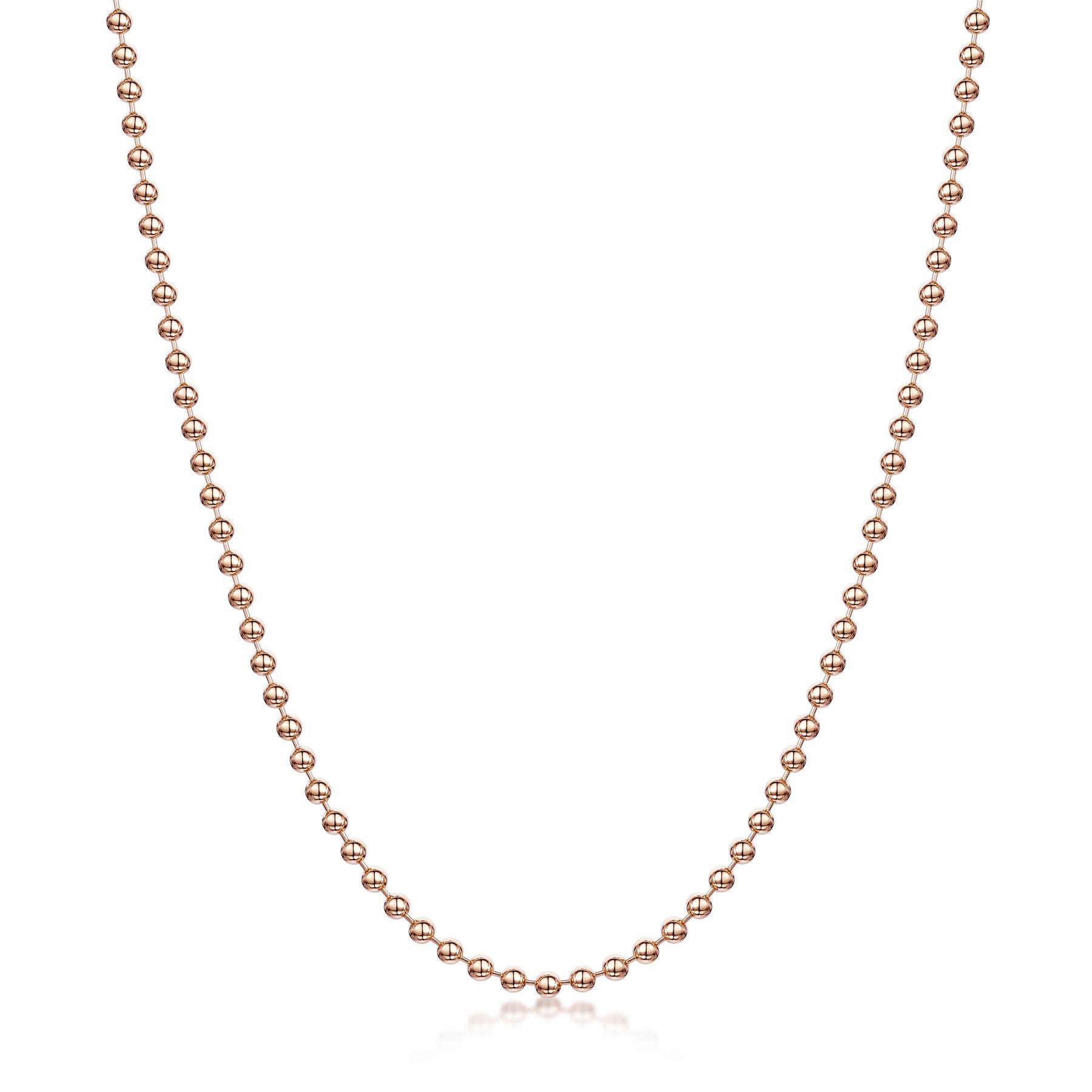 Amberta-Collar-en-Fina-Plata-De-Ley-925-y-Chapado-Oro-Rosa-14k-Cadena-para-Mujer miniatura 35