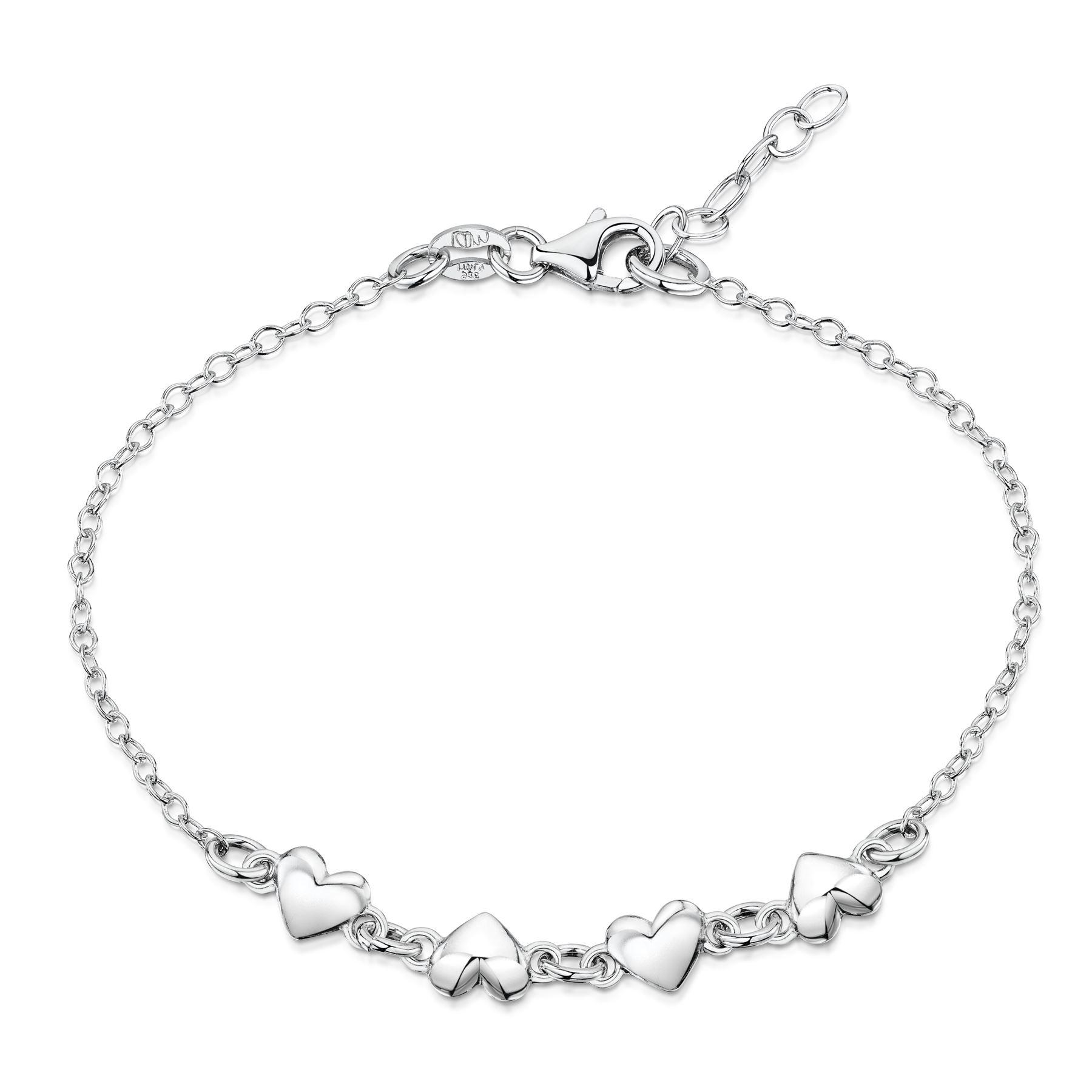 Amberta-Jewelry-925-Sterling-Silver-Adjustable-Bracelet-Italian-Bangle-for-Women thumbnail 59