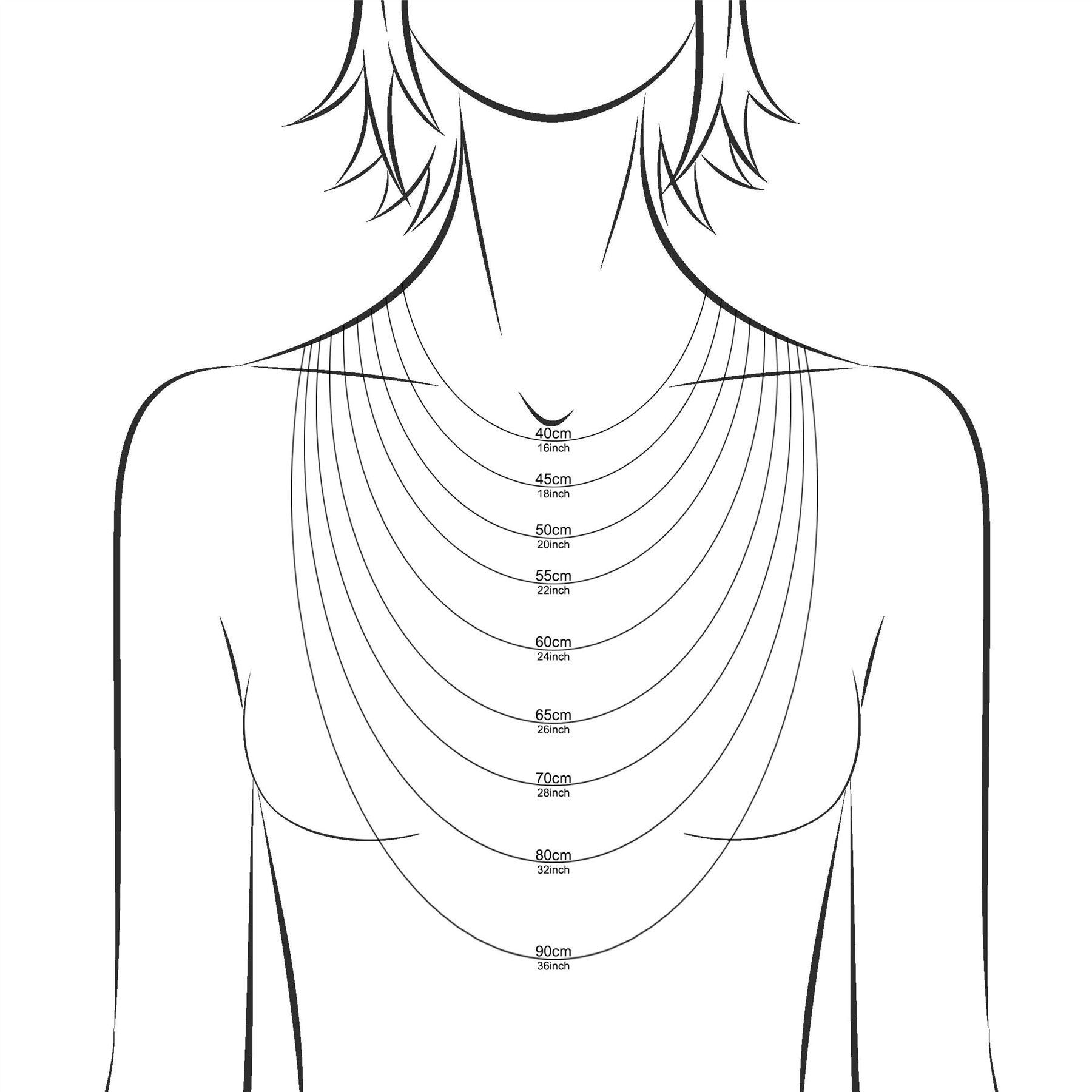 Amberta-Collar-en-Plata-De-Ley-925-Autentica-Cadena-para-Mujer-y-Hombre-Italiana miniatura 104