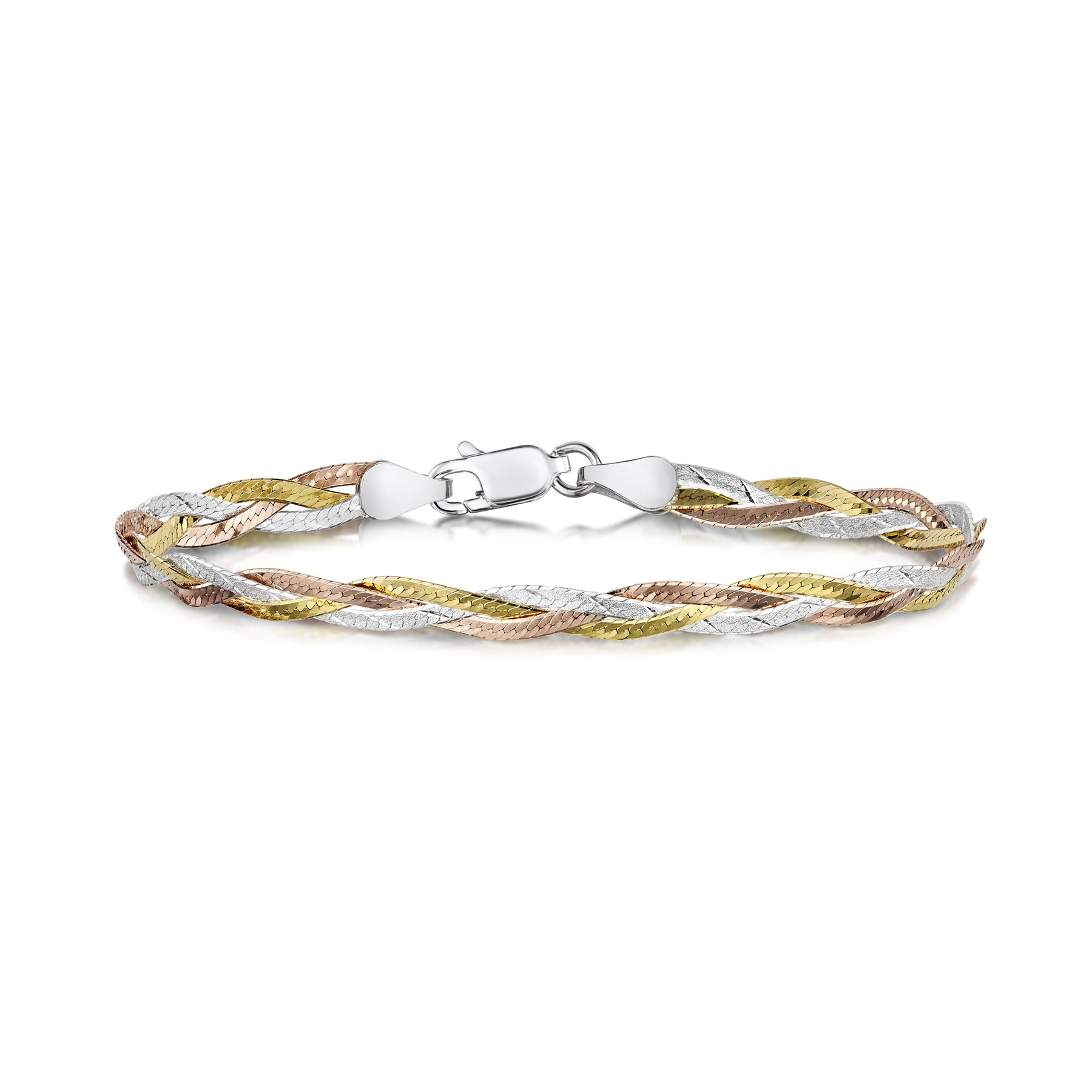 Amberta-Jewelry-Genuine-925-Sterling-Silver-Bracelet-Bangle-Chain-Made-in-Italy thumbnail 102