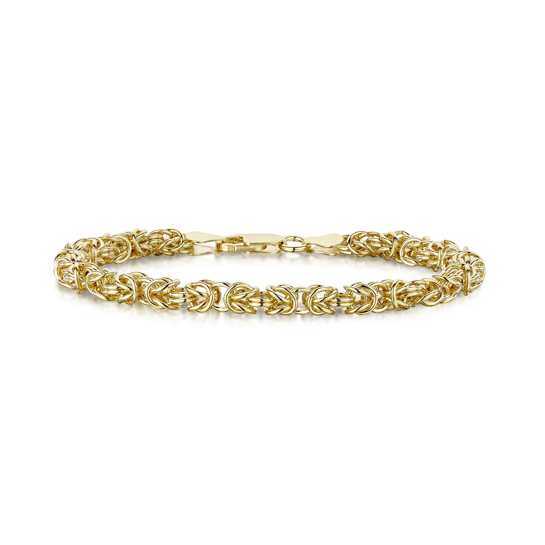 Amberta-Genuine-Real-925-Sterling-Silver-Chain-Bracelet-for-Women-from-Italy miniature 12