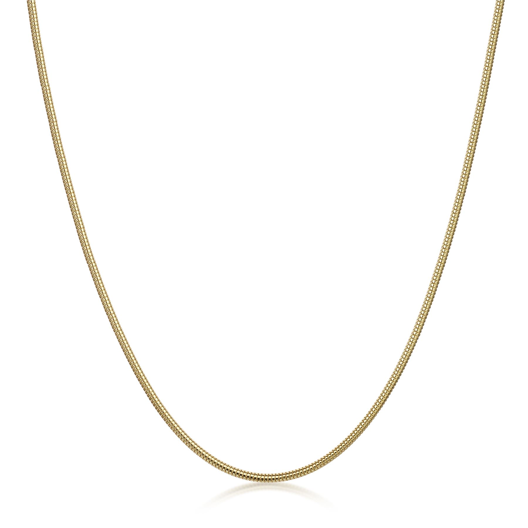 Amberta-Genuine-Gold-Plated-on-Real-925-Sterling-Silver-Necklace-Chain-Italy miniatura 19