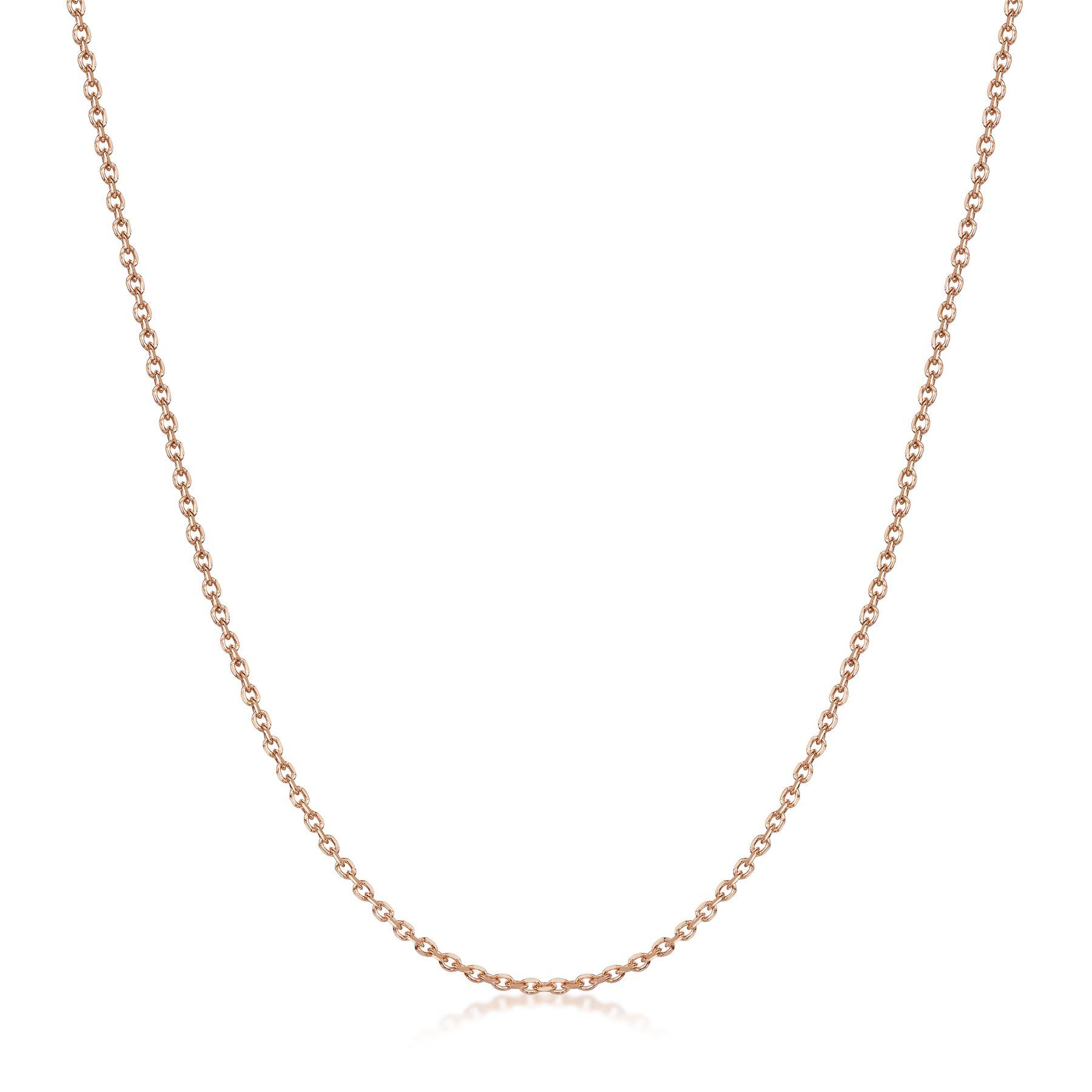 Amberta-Collar-en-Fina-Plata-De-Ley-925-y-Chapado-Oro-Rosa-14k-Cadena-para-Mujer miniatura 19