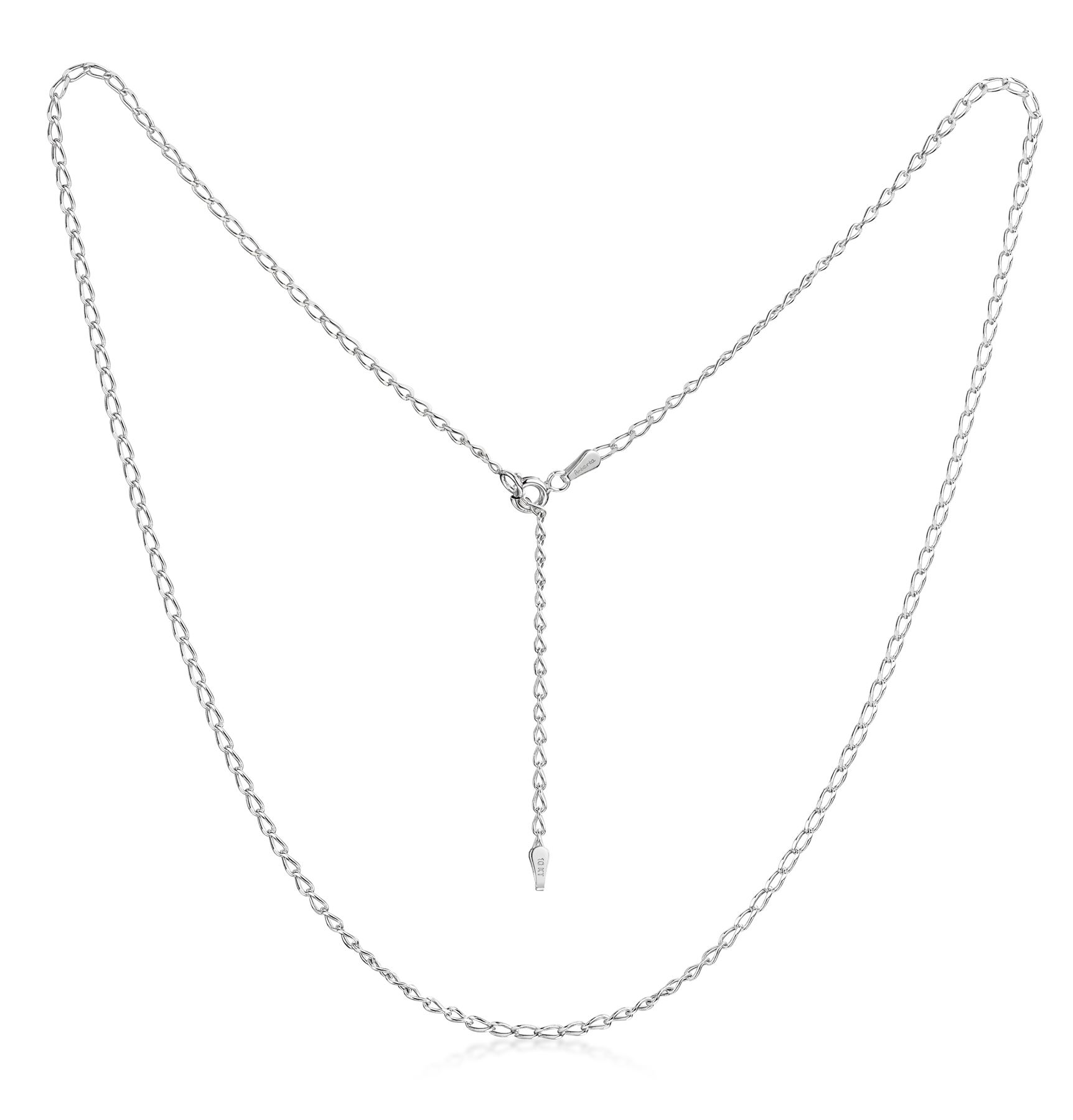 Amberta-Genuine-Solid-10k-Gold-Chain-Adjustable-Necklace-for-Women-and-Men thumbnail 4