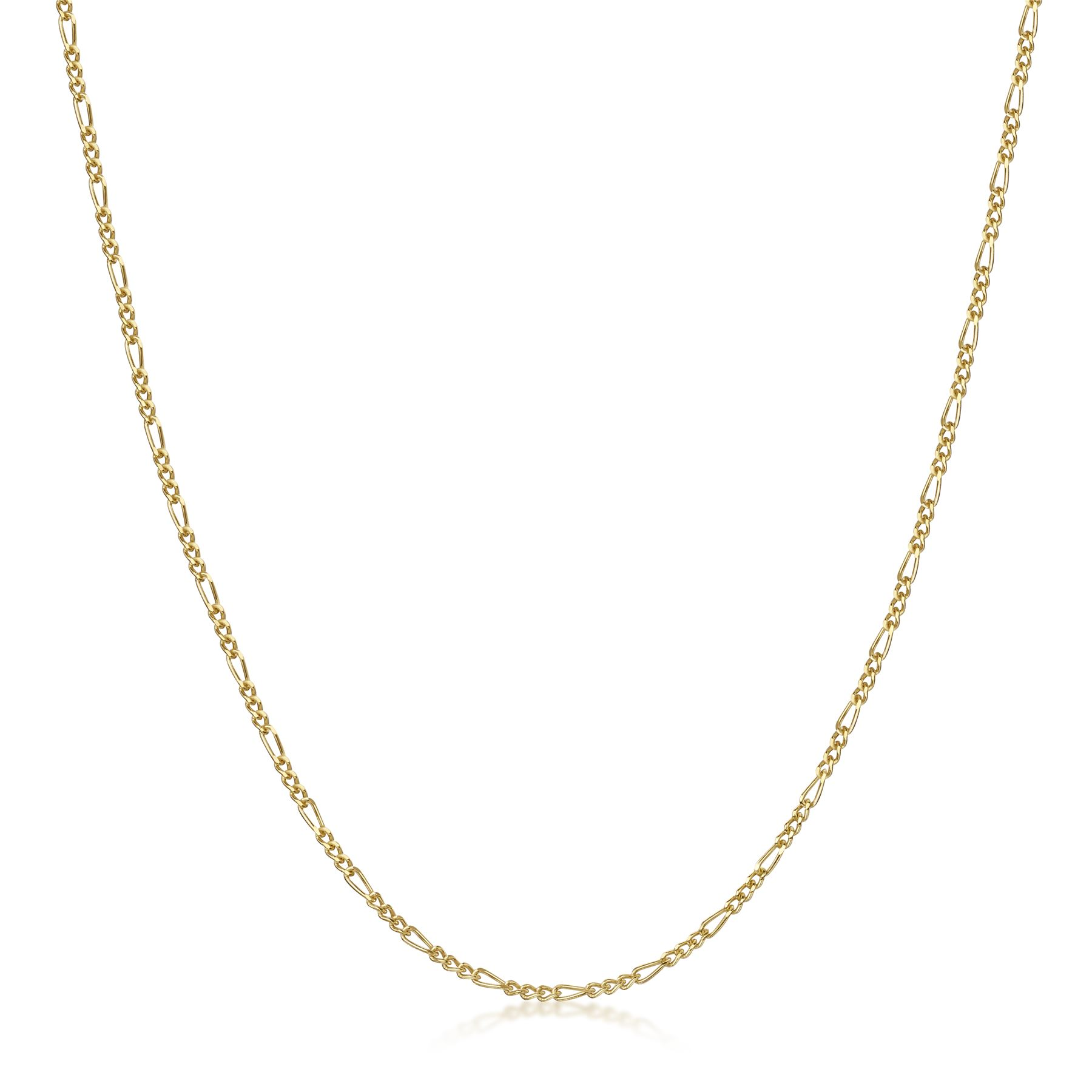 Amberta-Genuine-Gold-Plated-on-Real-925-Sterling-Silver-Necklace-Chain-Italy miniatura 23