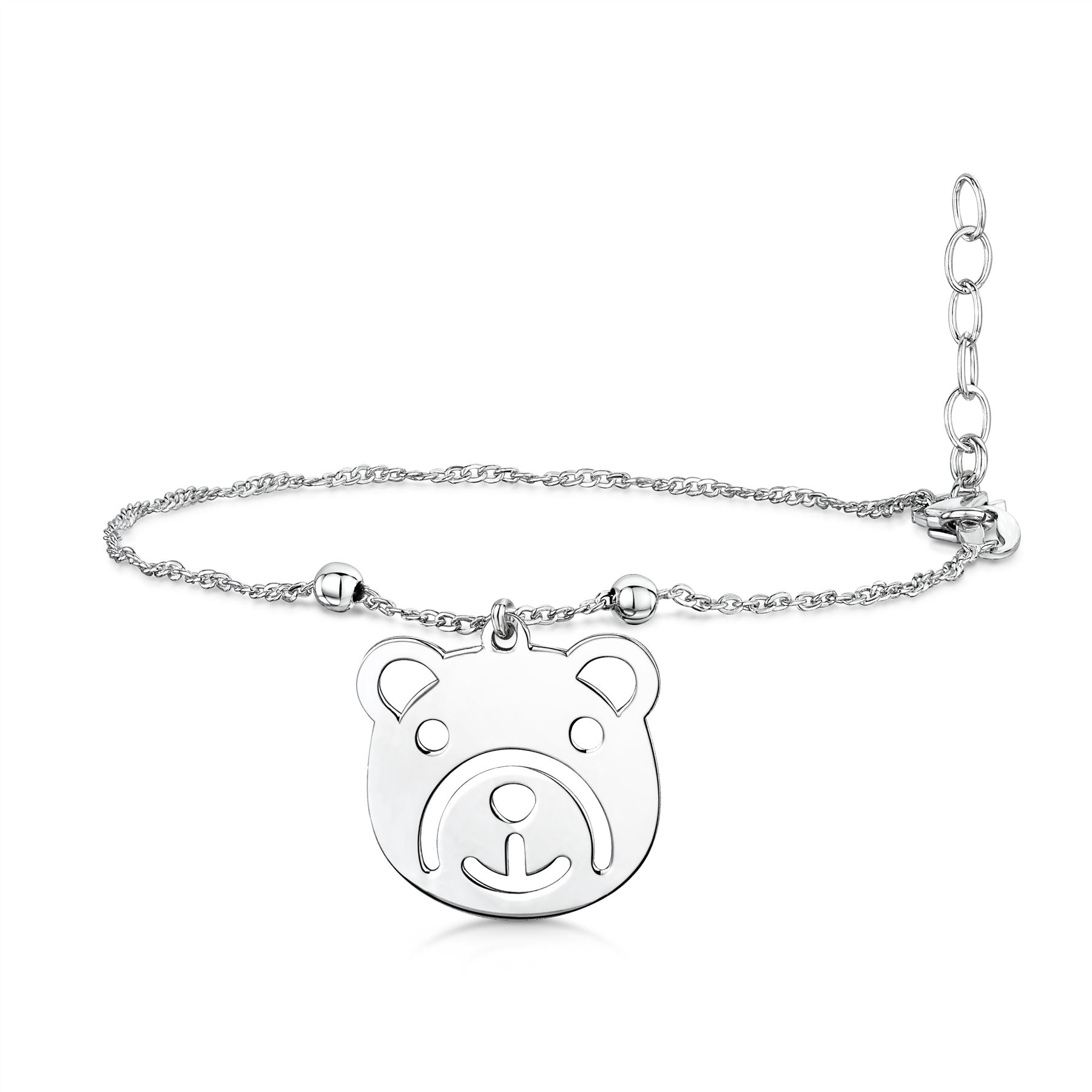 Amberta-Jewelry-925-Sterling-Silver-Adjustable-Anklet-for-Women-Made-in-Italy miniature 18