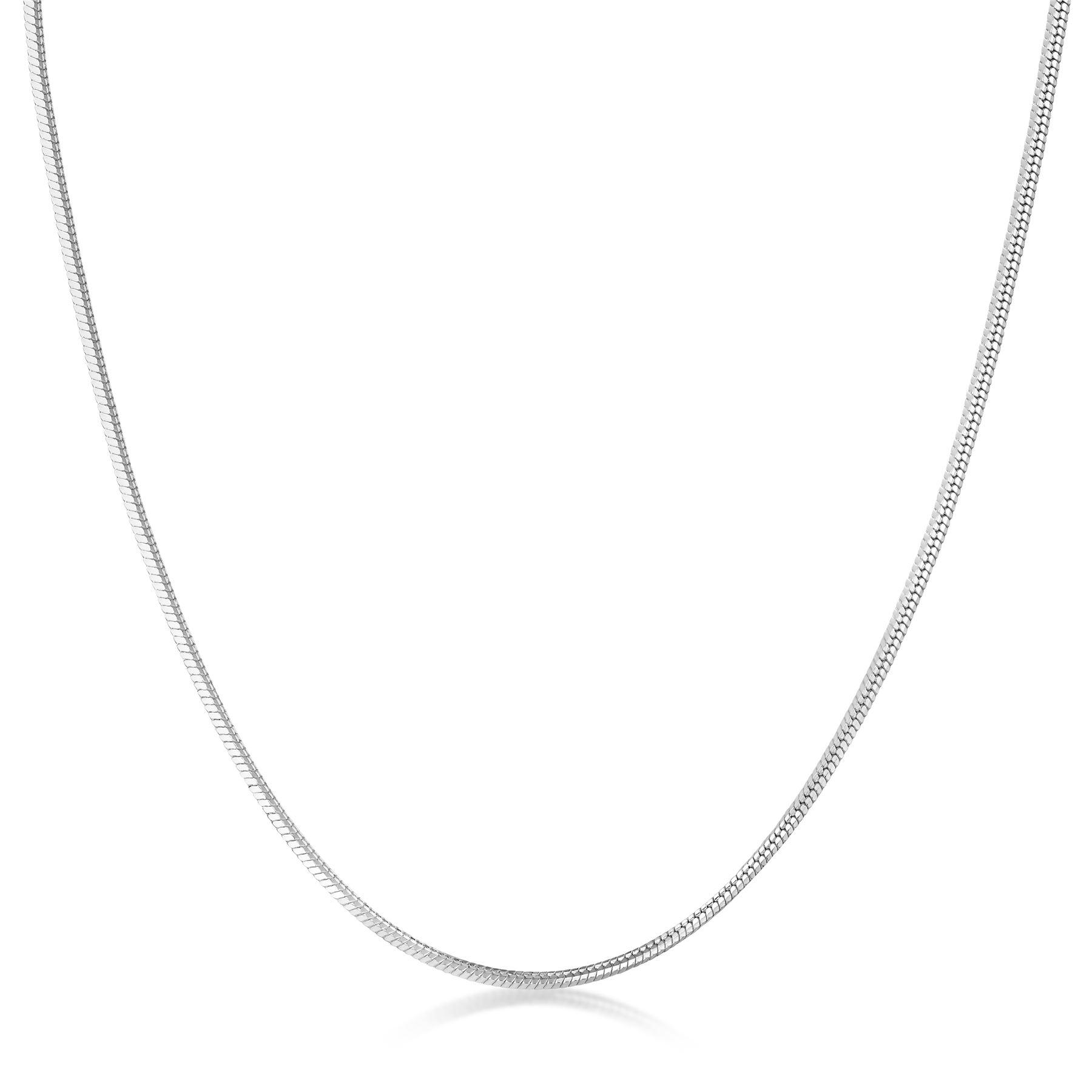 Amberta-Collar-en-Plata-De-Ley-925-Autentica-Cadena-para-Mujer-y-Hombre-Italiana miniatura 13