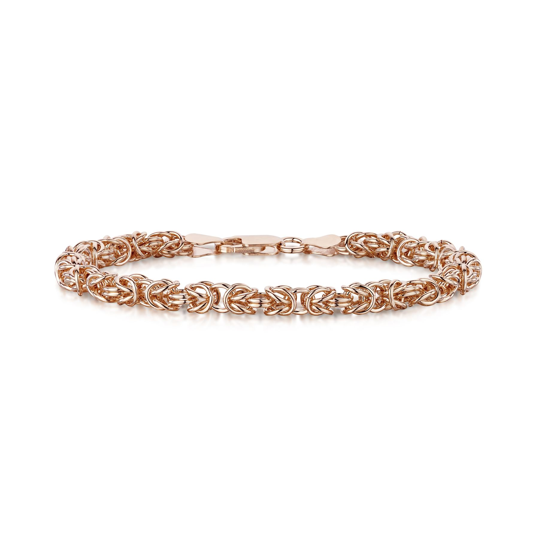 Amberta-Genuine-Real-925-Sterling-Silver-Chain-Bracelet-for-Women-from-Italy miniature 17