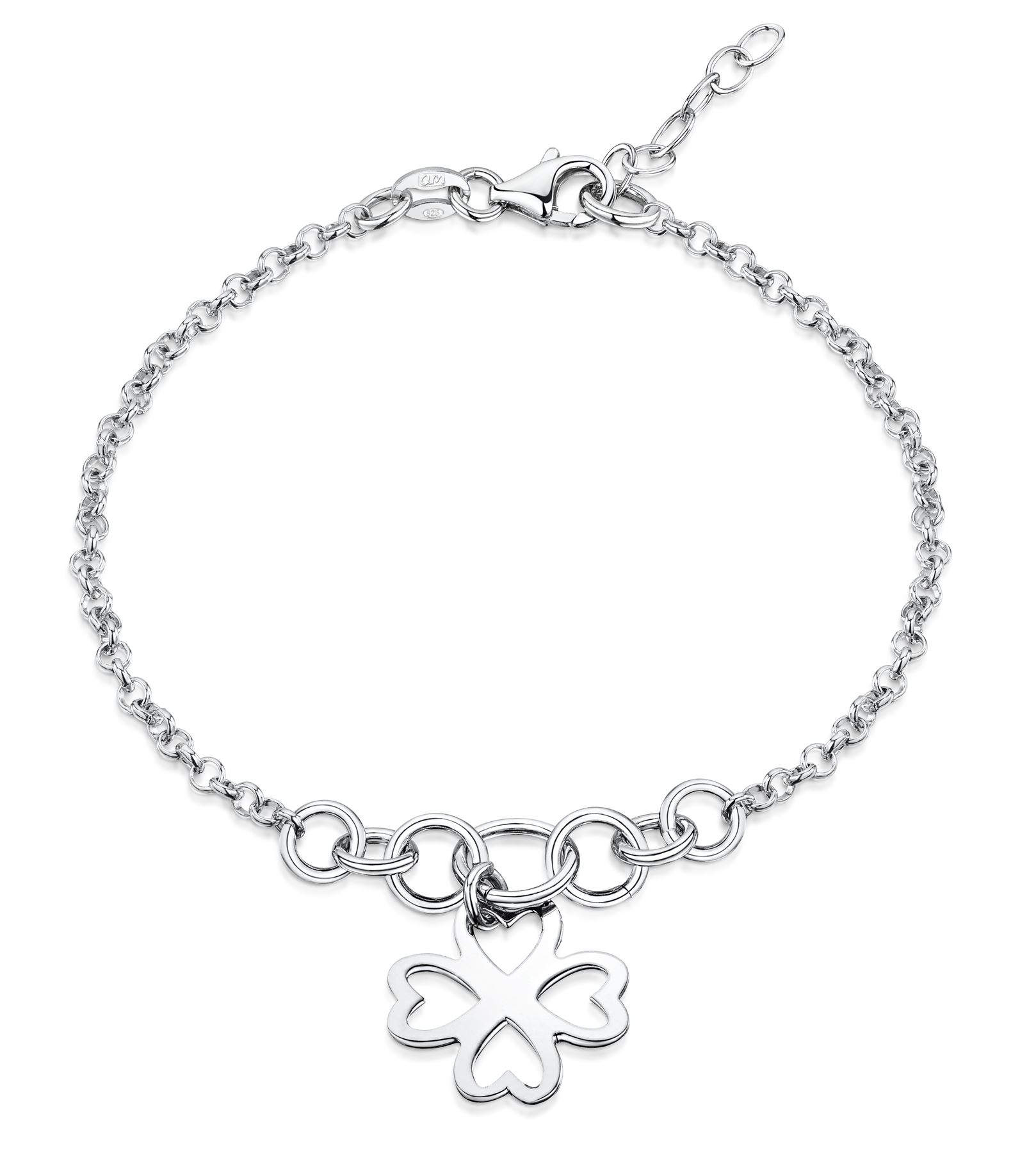 Amberta-Jewelry-925-Sterling-Silver-Adjustable-Bracelet-Italian-Bangle-for-Women thumbnail 71
