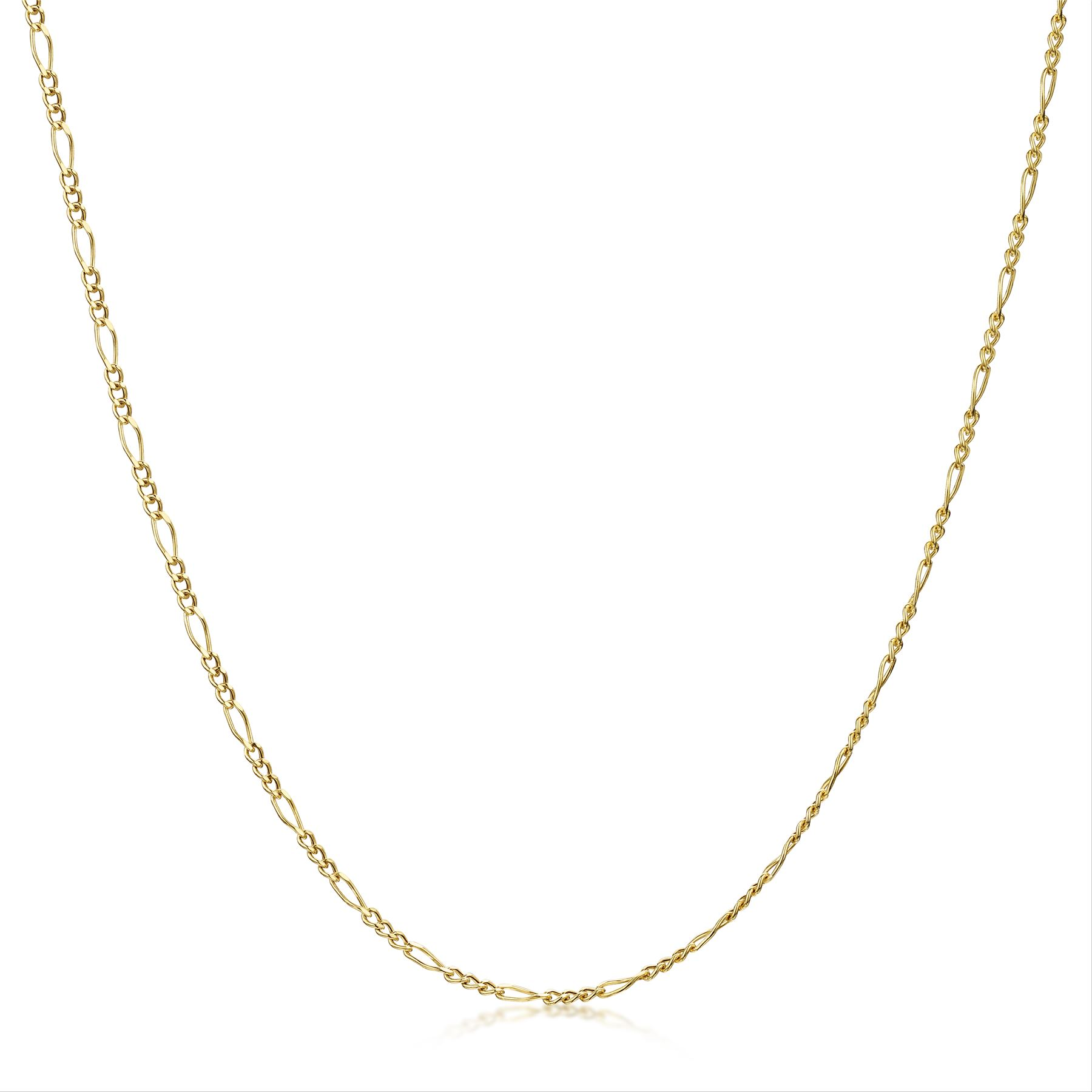 Amberta-Genuine-Real-Yellow-Gold-9K-Solid-Strong-Adjustable-Necklace-Chain-Italy thumbnail 11