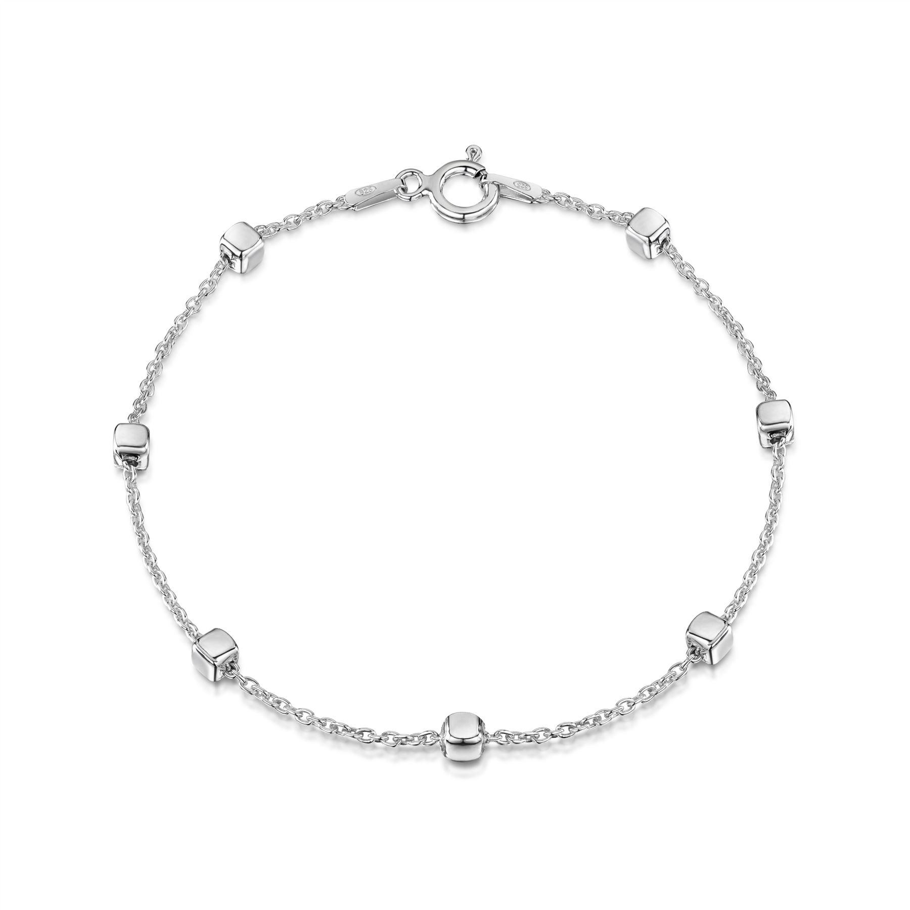 Amberta-Pulsera-en-Autentica-Plata-De-Ley-925-Brazalete-Precioso-para-Mujer miniatura 12
