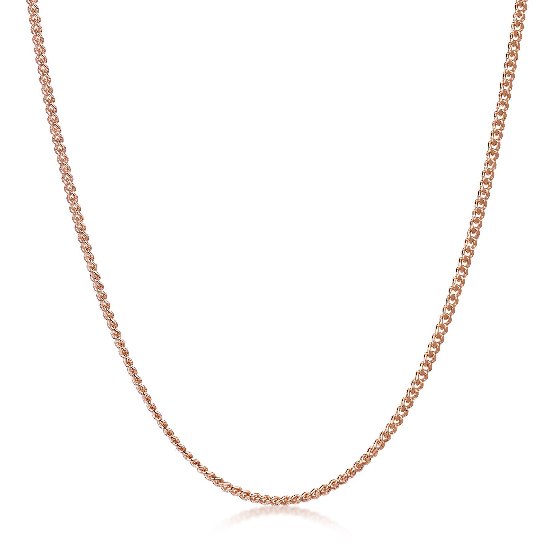 Amberta-Collar-en-Fina-Plata-De-Ley-925-y-Chapado-Oro-Rosa-14k-Cadena-para-Mujer miniatura 31