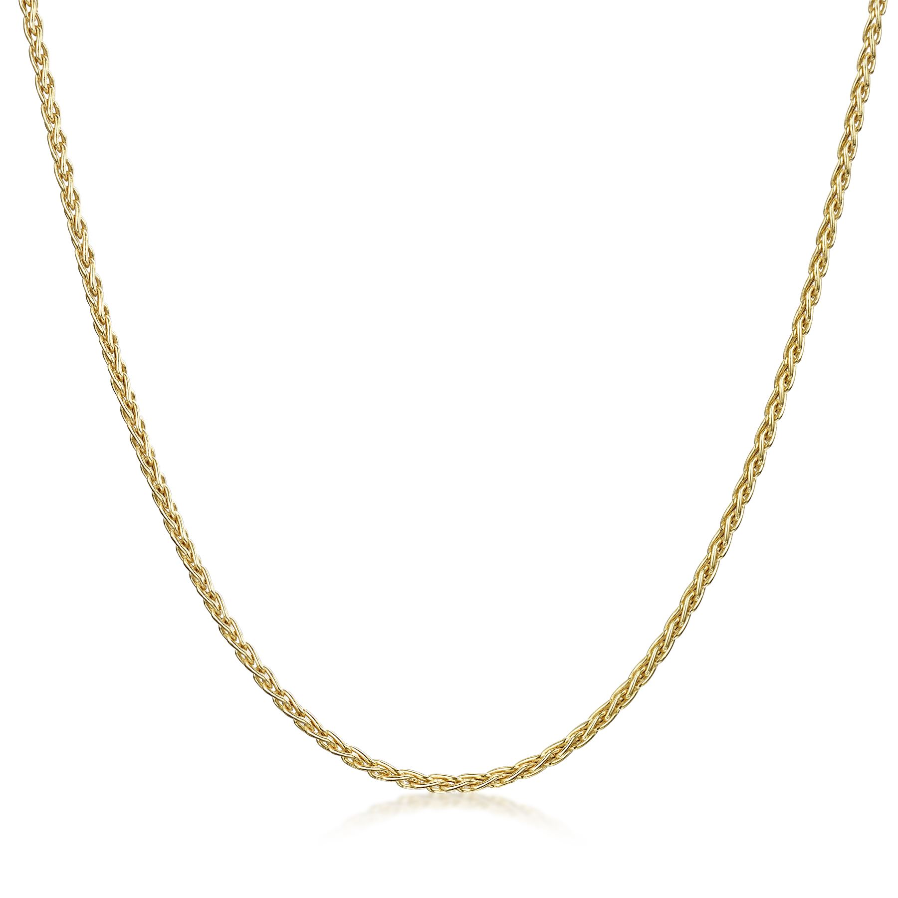 Amberta-Genuine-Solid-10k-Gold-Chain-Adjustable-Necklace-for-Women-and-Men thumbnail 15