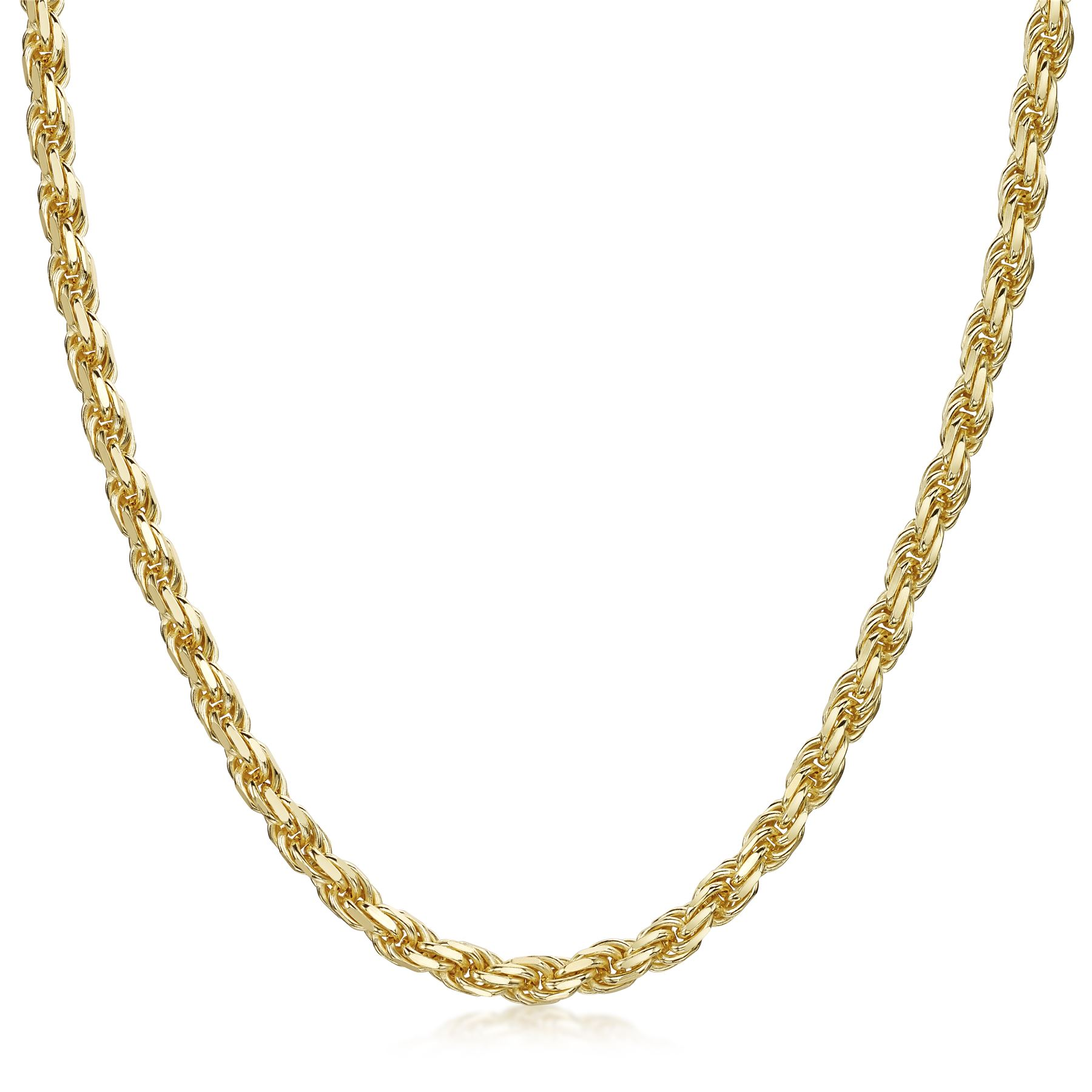 Amberta-925-Sterling-Silver-Link-Chain-Mens-Curb-Cuban-Necklace-ALL-SIZES-Italy thumbnail 45