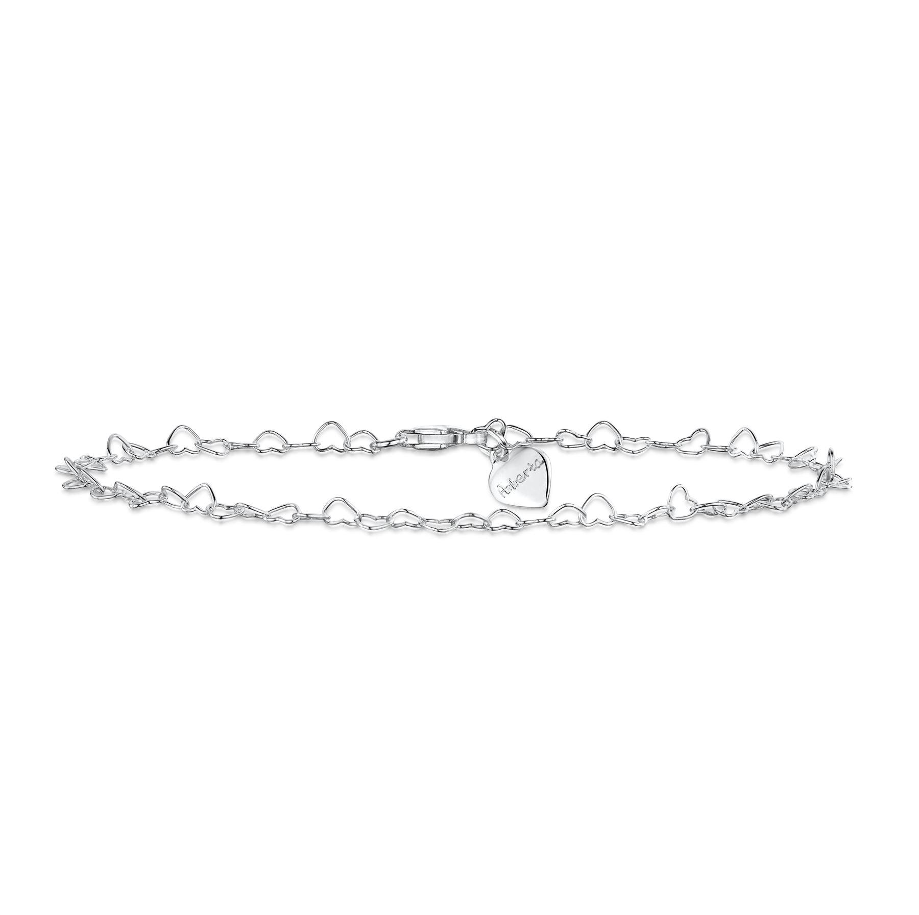 Amberta-Bijoux-Bracelet-en-Vrai-Argent-Sterling-925-Chaine-pour-Femme-a-la-Mode thumbnail 76