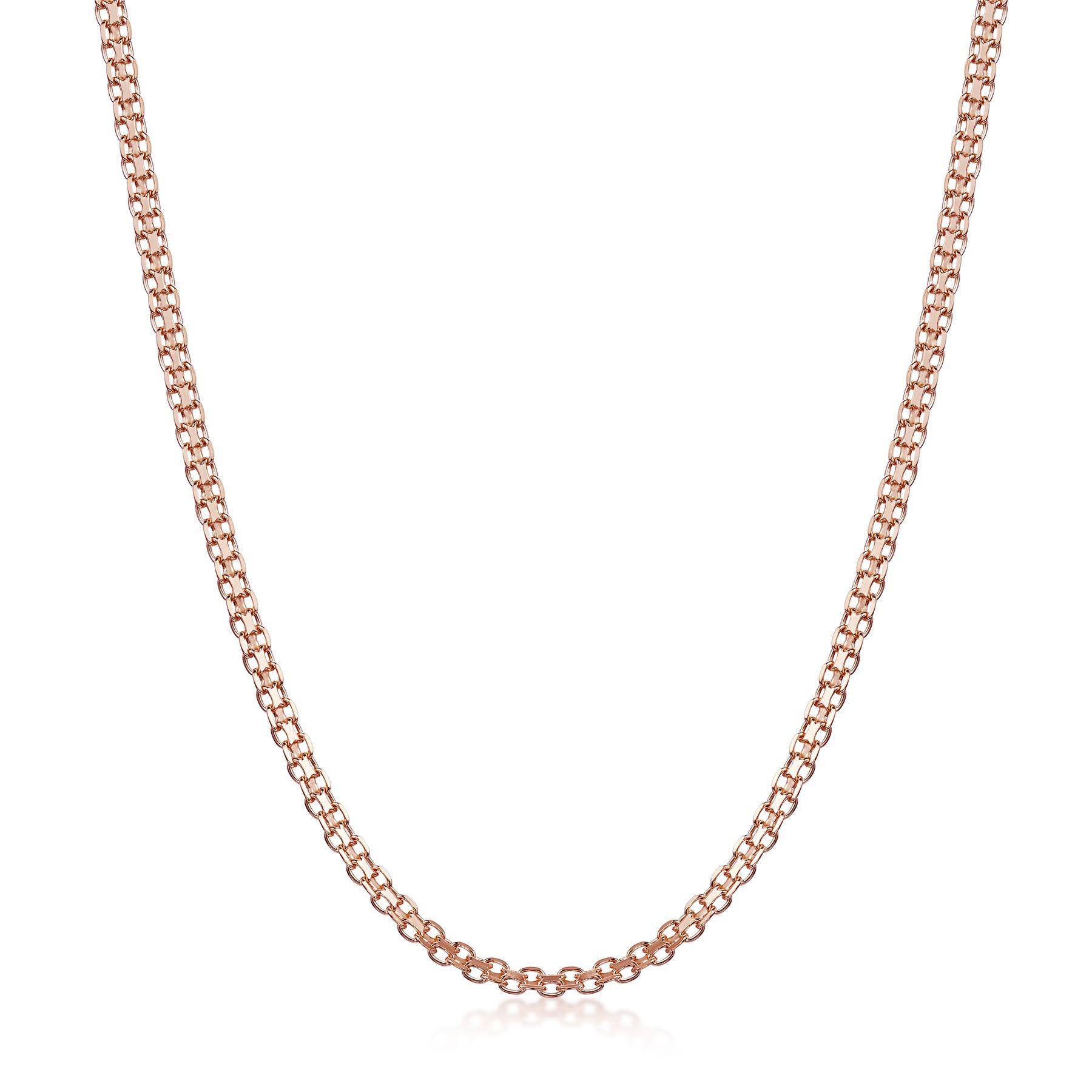 Amberta-Collar-en-Fina-Plata-De-Ley-925-y-Chapado-Oro-Rosa-14k-Cadena-para-Mujer miniatura 44