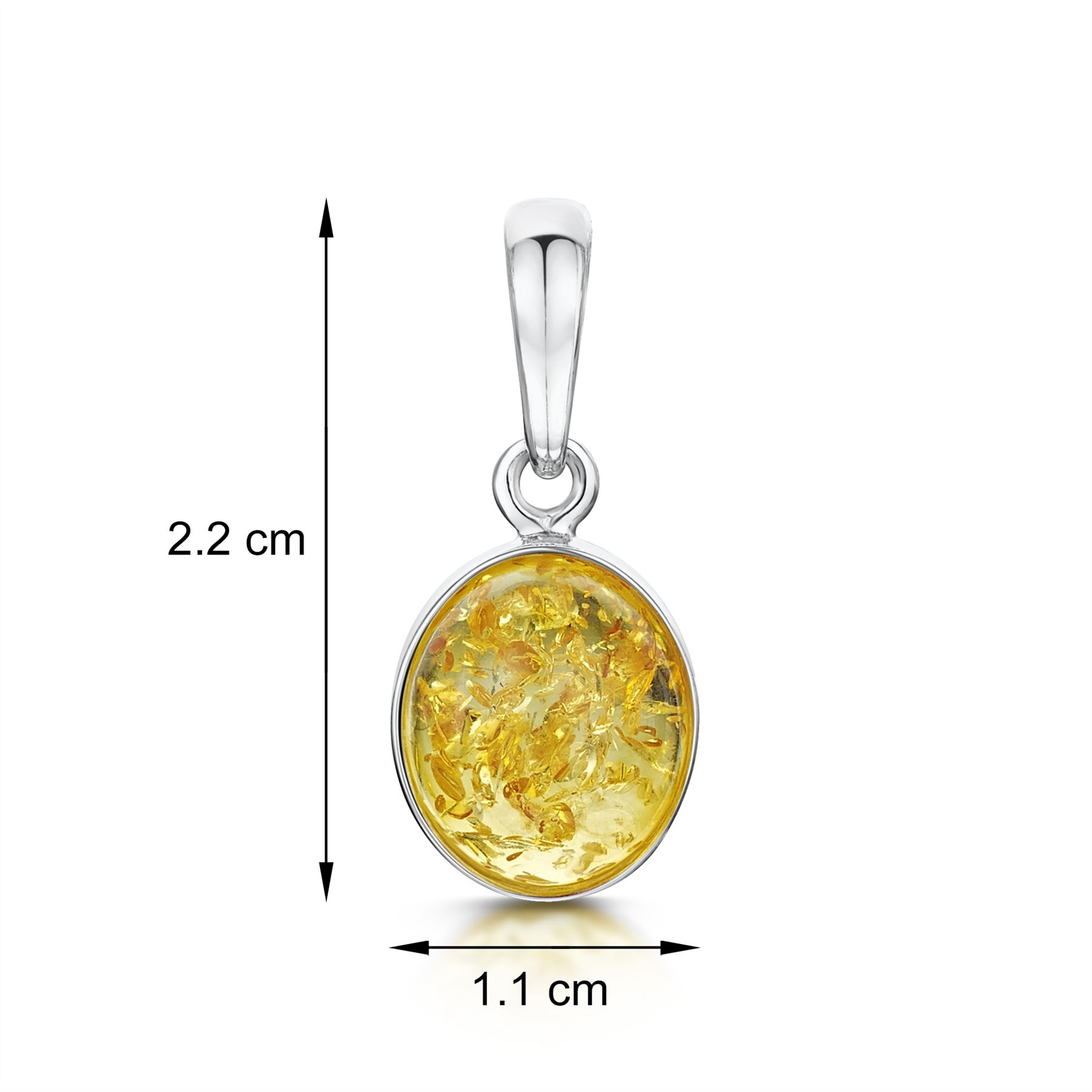 Amberta-Genuine-925-Sterling-Silver-Pendant-with-Natural-Baltic-Amber-Gemstone thumbnail 8
