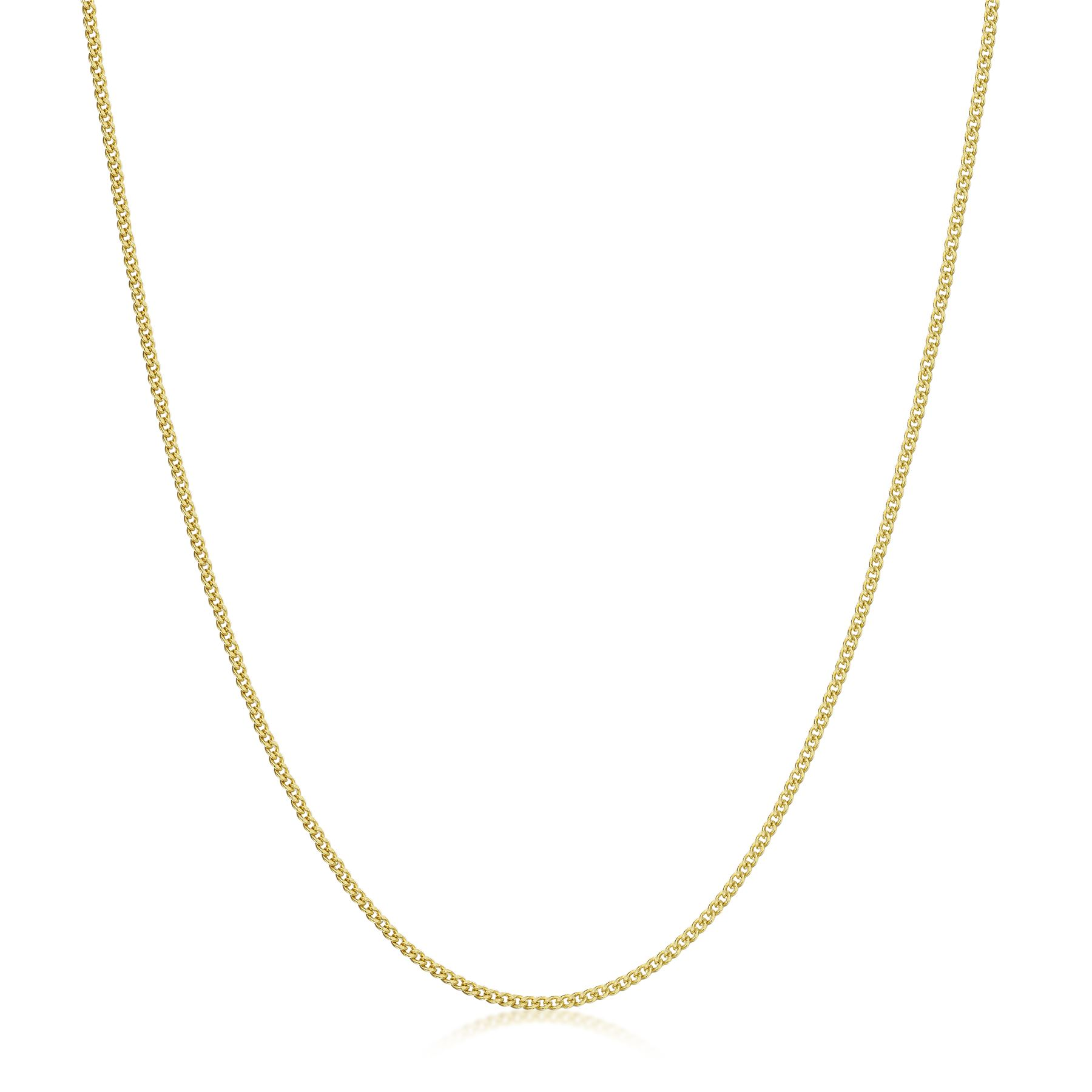 Amberta-Genuine-Real-Yellow-Gold-9K-Solid-Strong-Adjustable-Necklace-Chain-Italy thumbnail 7