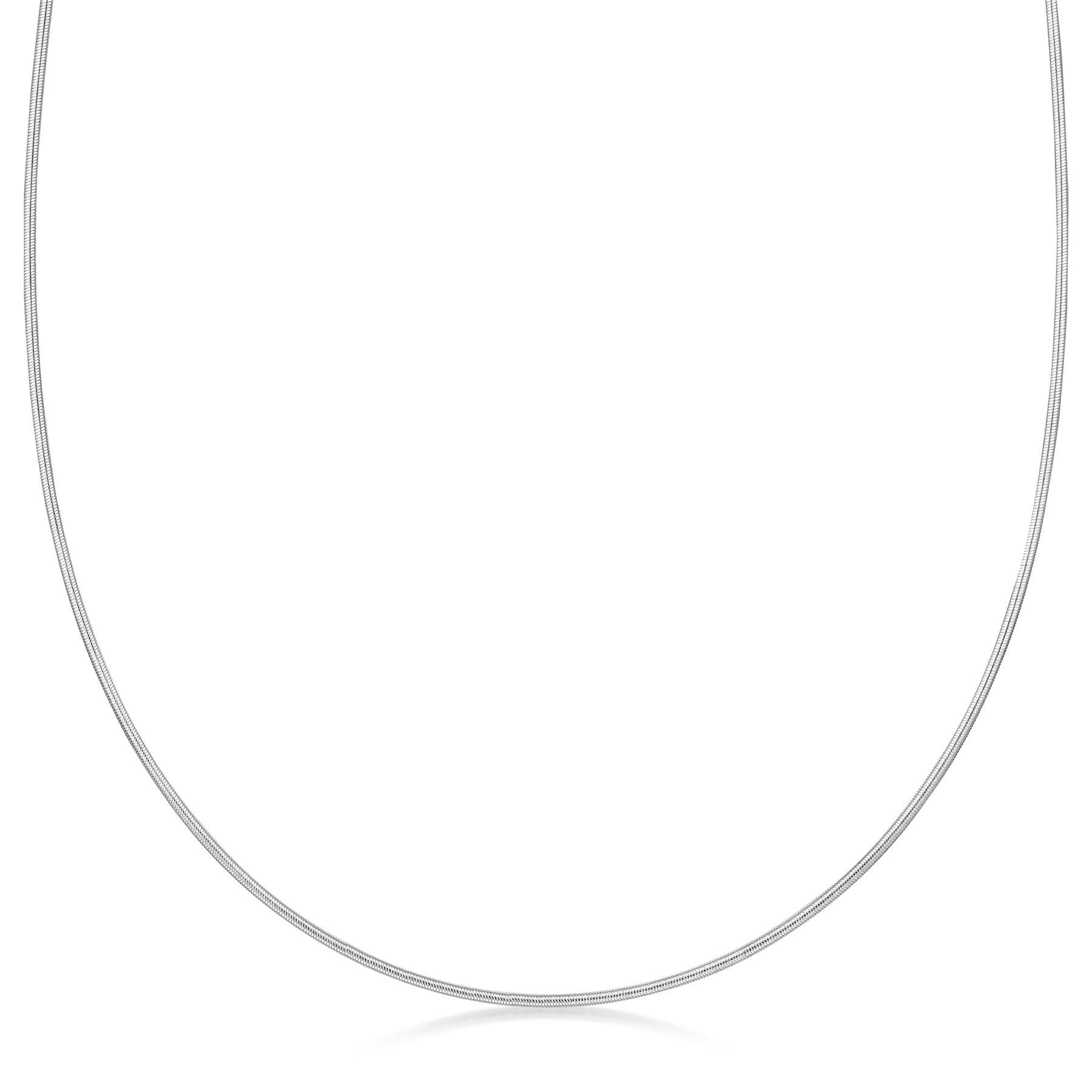 Amberta-Collar-en-Plata-De-Ley-925-Autentica-Cadena-para-Mujer-y-Hombre-Italiana miniatura 77