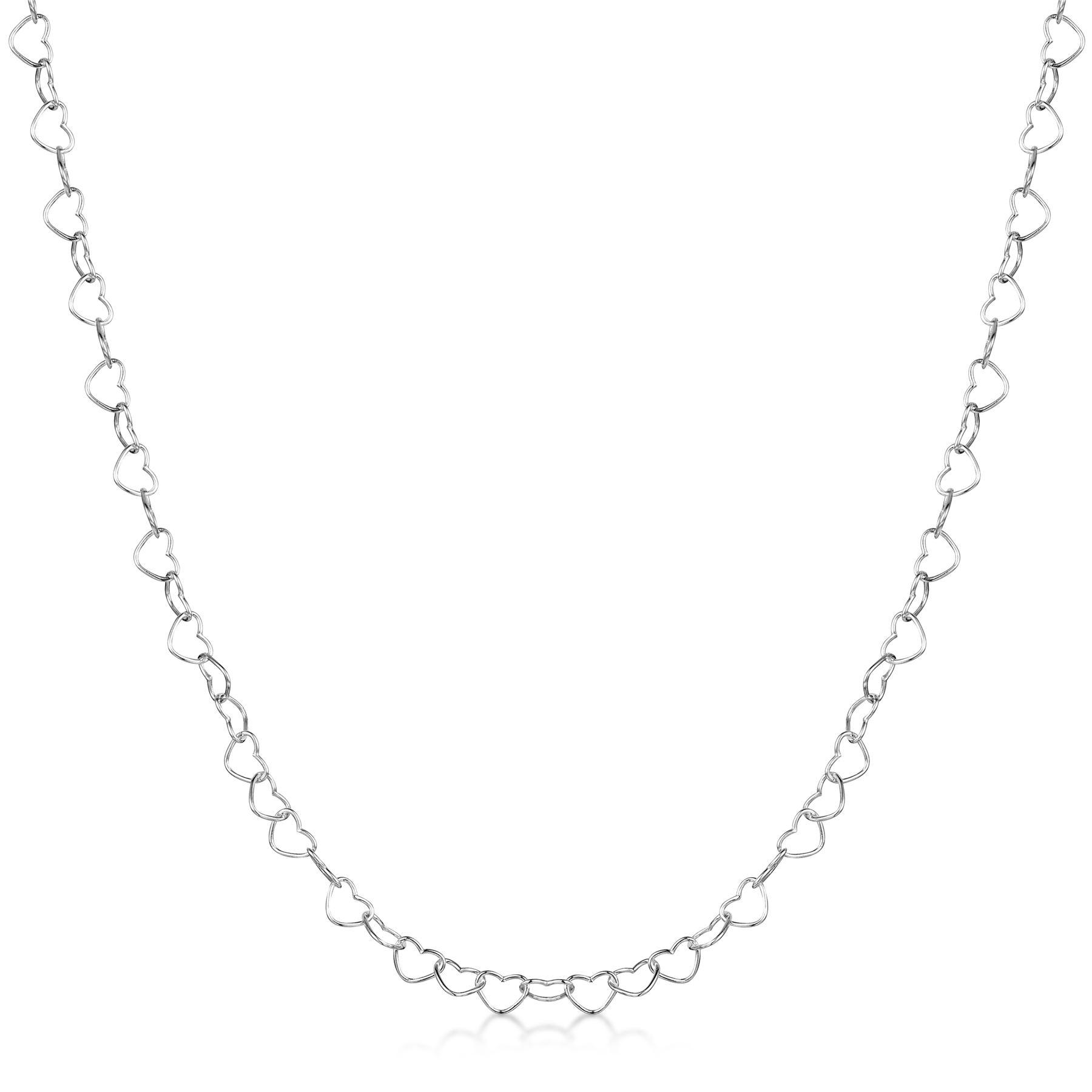 Amberta-Collar-en-Plata-De-Ley-925-Autentica-Cadena-para-Mujer-y-Hombre-Italiana miniatura 123