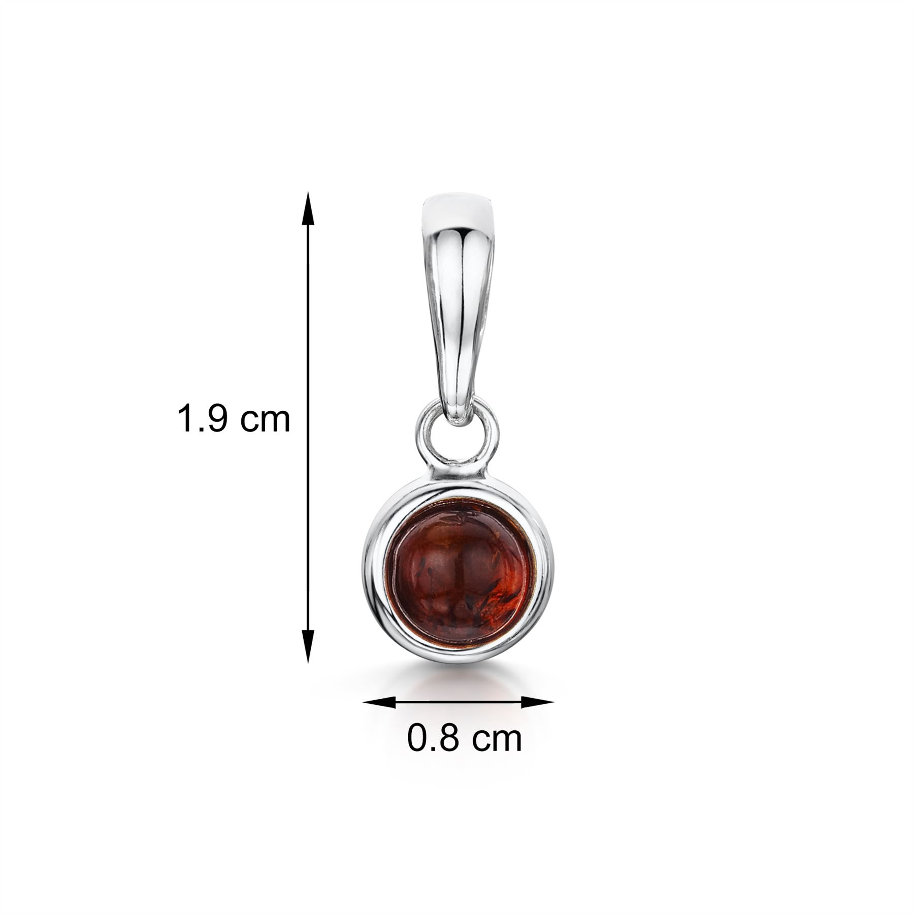 Amberta-Genuine-925-Sterling-Silver-Pendant-with-Natural-Baltic-Amber-Gemstone thumbnail 75
