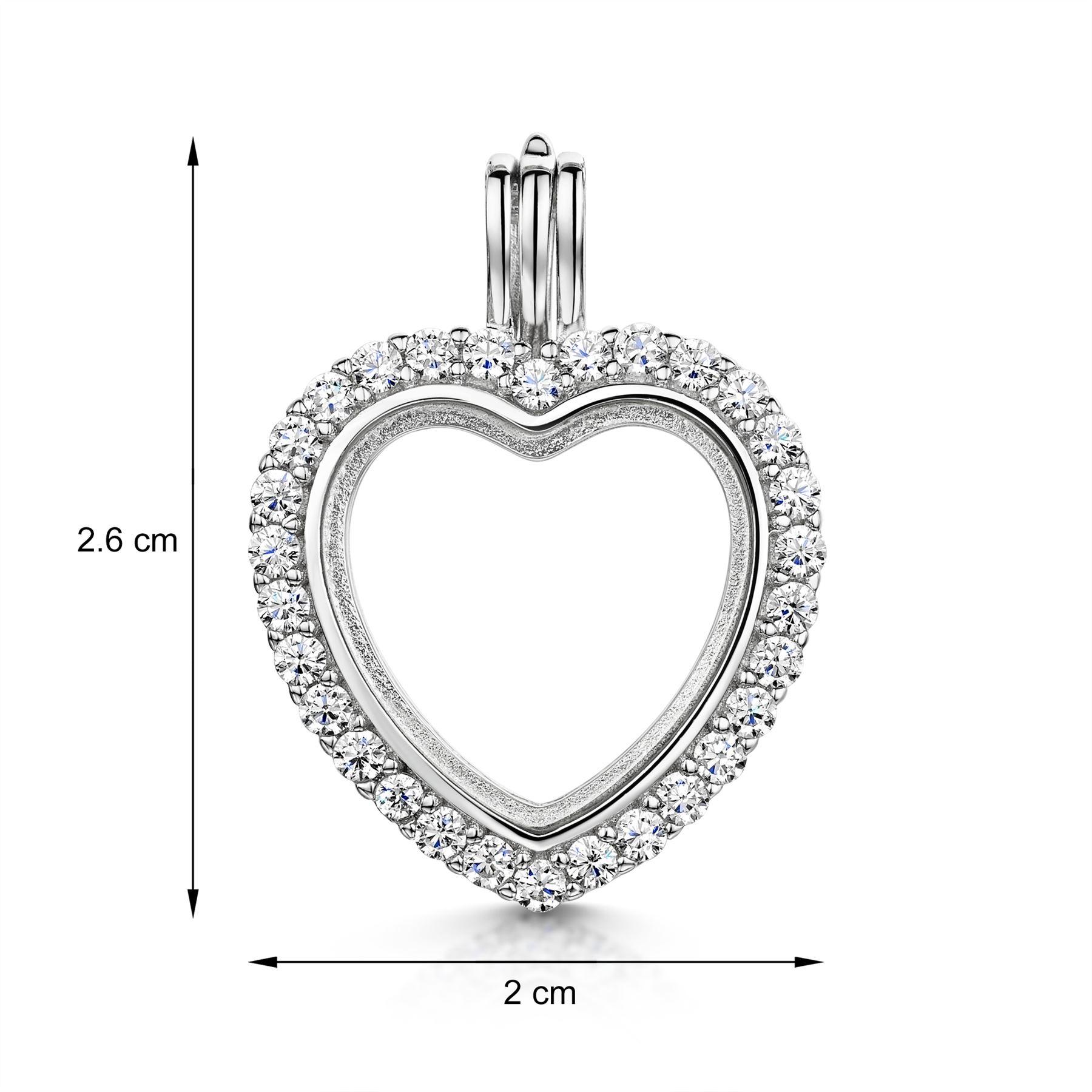 Amberta-Medallon-en-Fina-Plata-De-Ley-925-en-Formas-Diferentes-Para-Foto-y-Gemas miniatura 6