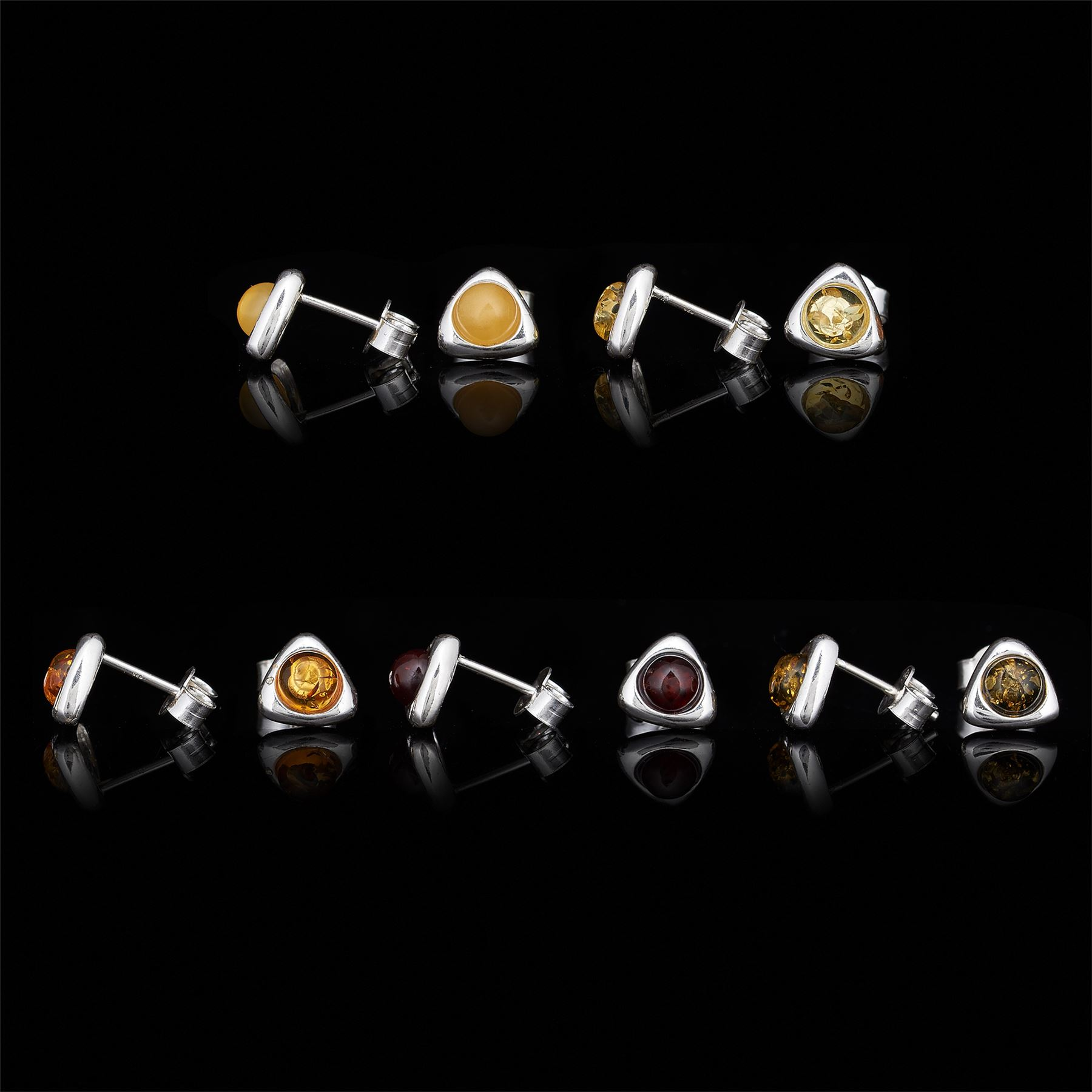 Amberta-Genuine-925-Sterling-Silver-Earrings-with-Natural-Baltic-Amber-Gemstone thumbnail 141