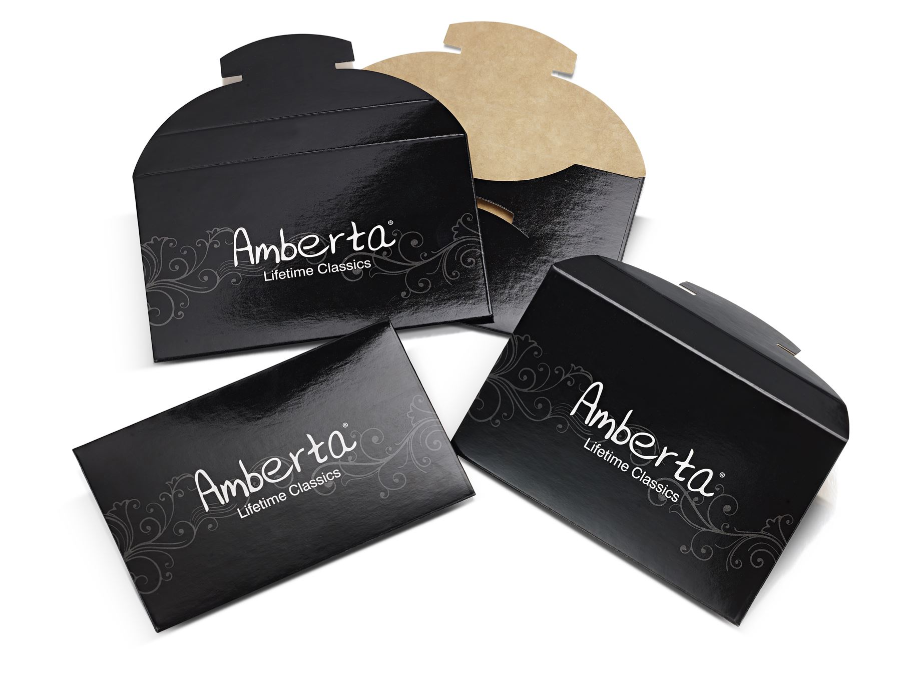 Amberta-Pendientes-para-Mujer-Aros-en-Plata-De-Ley-925-Autentica-Estilo-Clasico miniatura 6