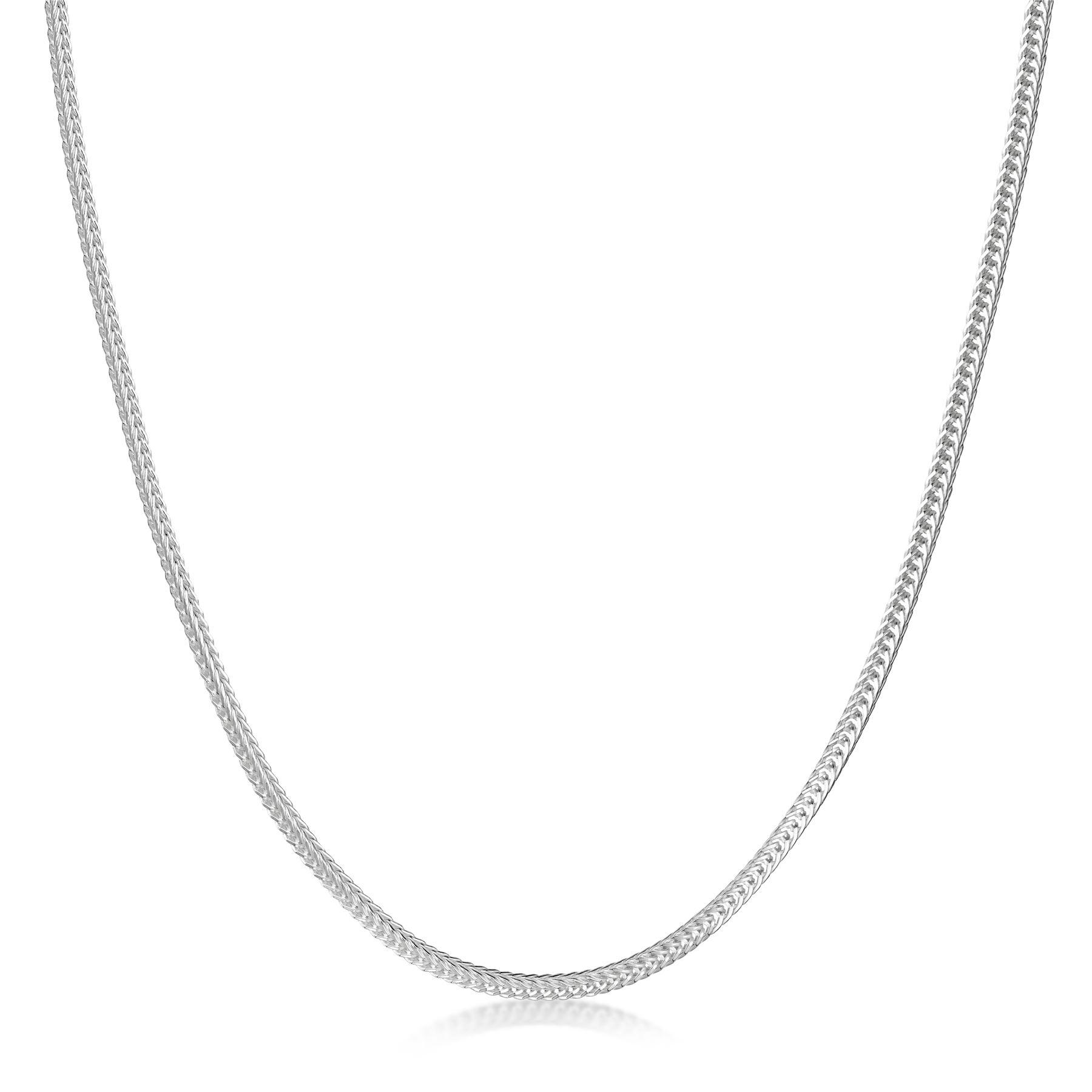 Amberta-Collar-en-Plata-De-Ley-925-Autentica-Cadena-para-Mujer-y-Hombre-Italiana miniatura 45