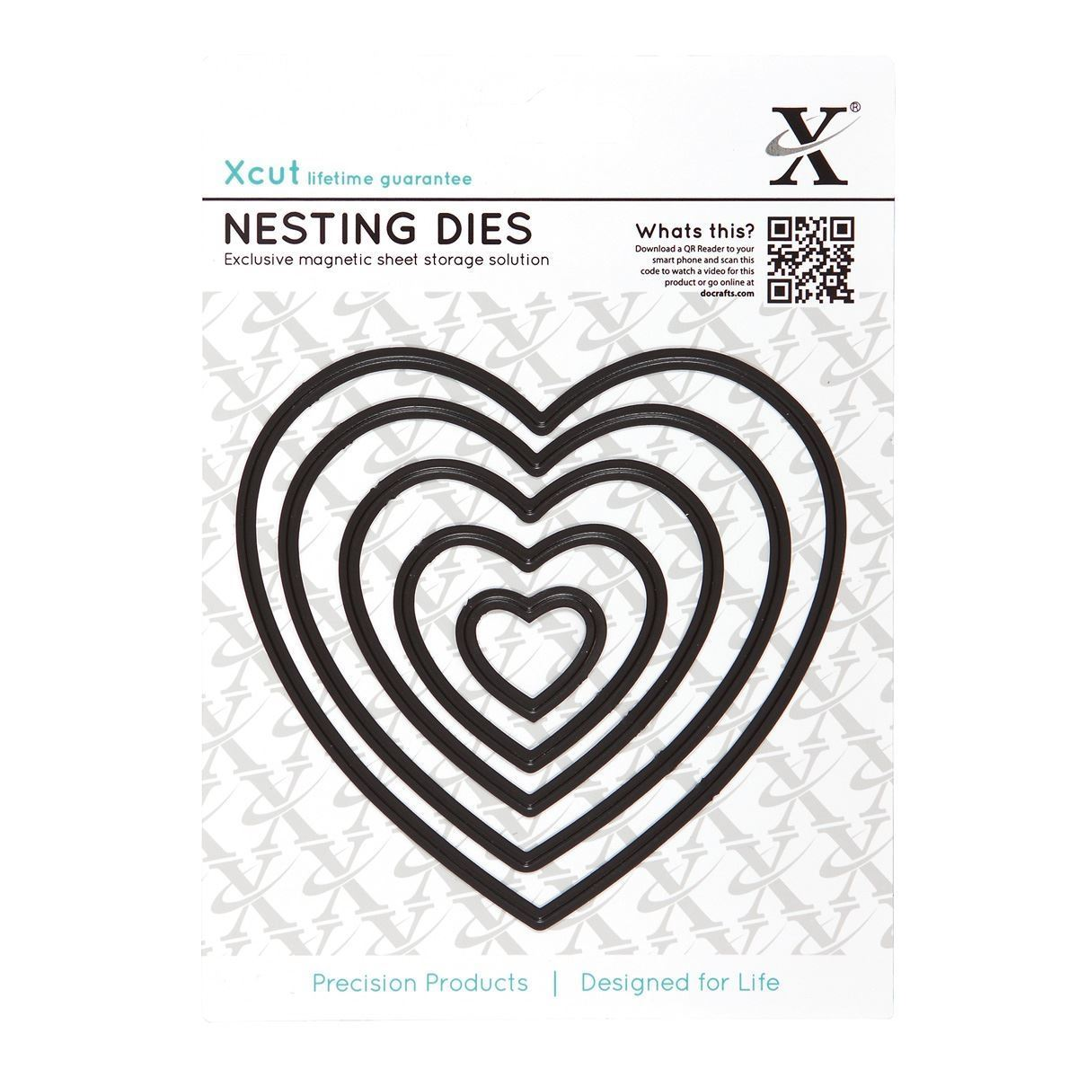 sizzix X cut 5 pc nesting dies flower bloom Use Xcut big shot machines