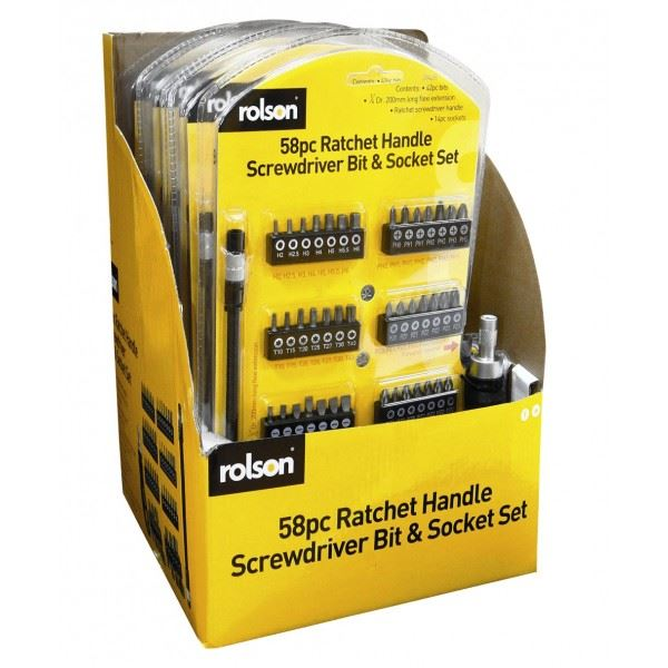 Rolson-28428-58pc-Screwdriver-amp-Bit-Set