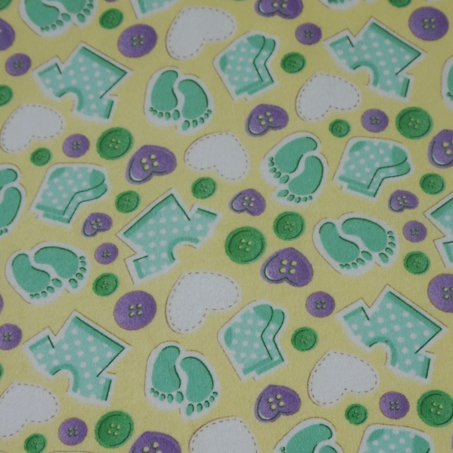 100 cotton winceyette flannelette fabric nursery baby for Nursery fabric