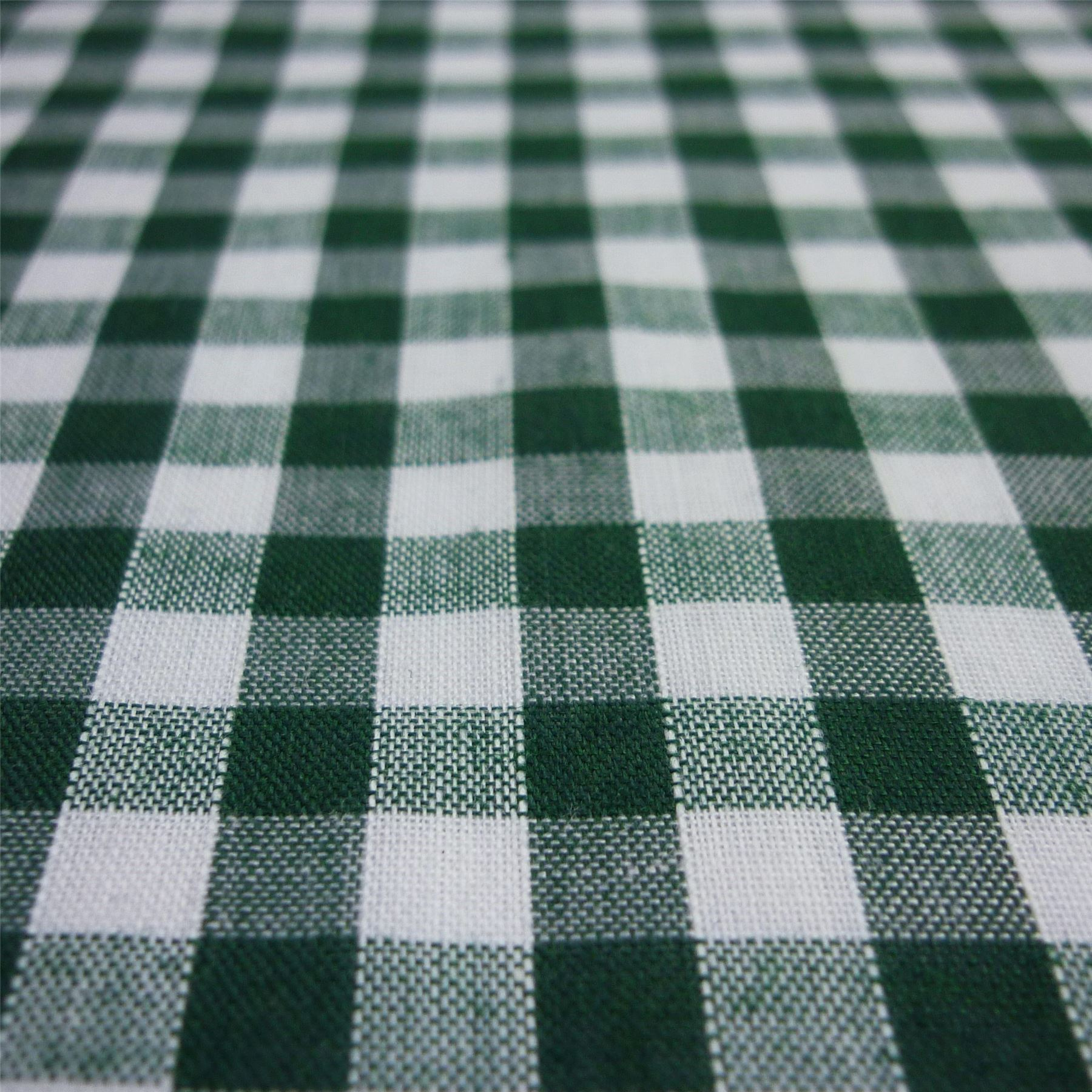New Gingham Fabric in BEAUTIFUL COLOURS /& PRINT Corded Polycotton