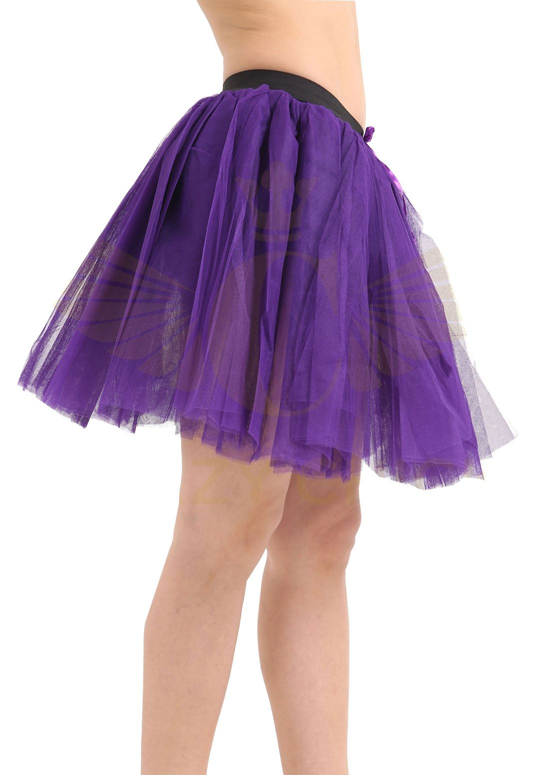Womens 3 Layers TUTU Skirt Ladies Fancy Hen Night Disco Stag Party ...