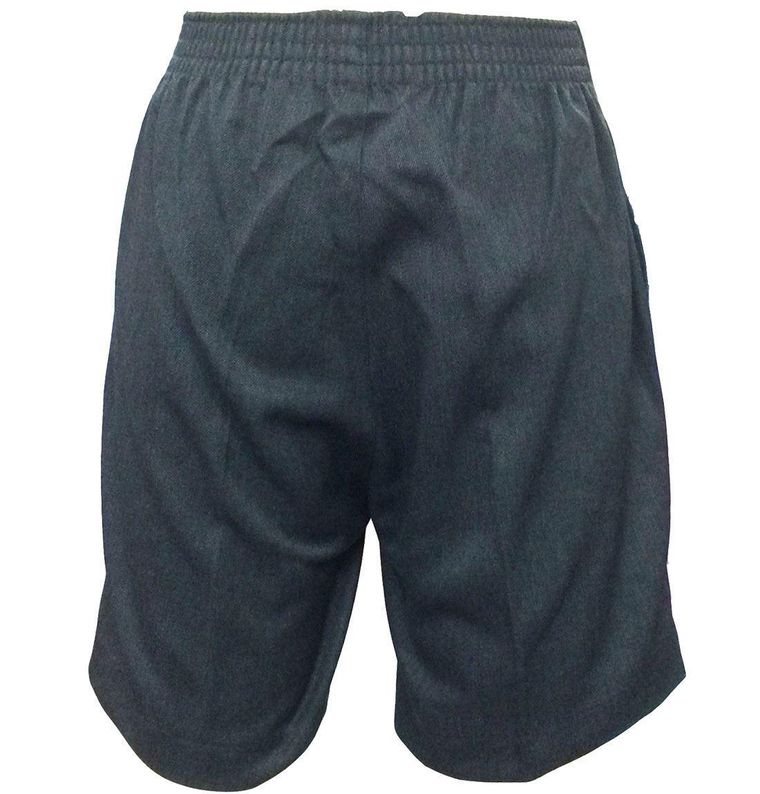 Islander Fashions Kids Boys Half Elasticated Waist Pull Up Shorts Childrens School Uniform Shorts 3-16 Years