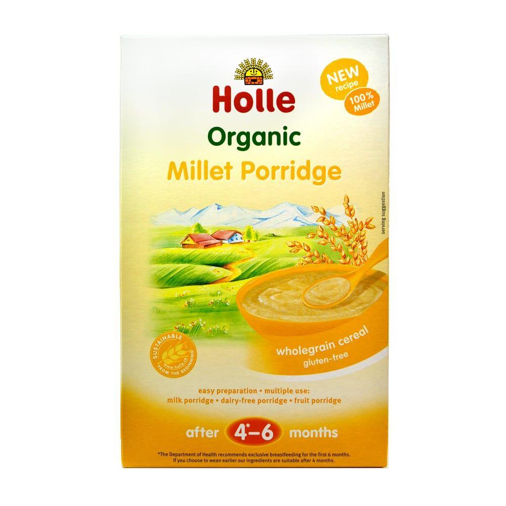 Details About Holle Demeter Baby Cereal Millet Porridge 250g 9 Pack