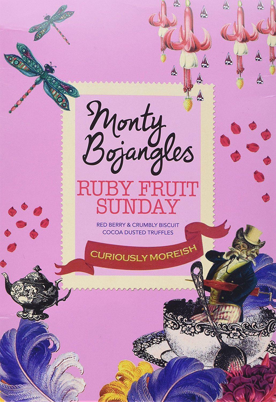 Monty Bojangles Ruby Fruit Sunday Truffles 150g 2 Pack