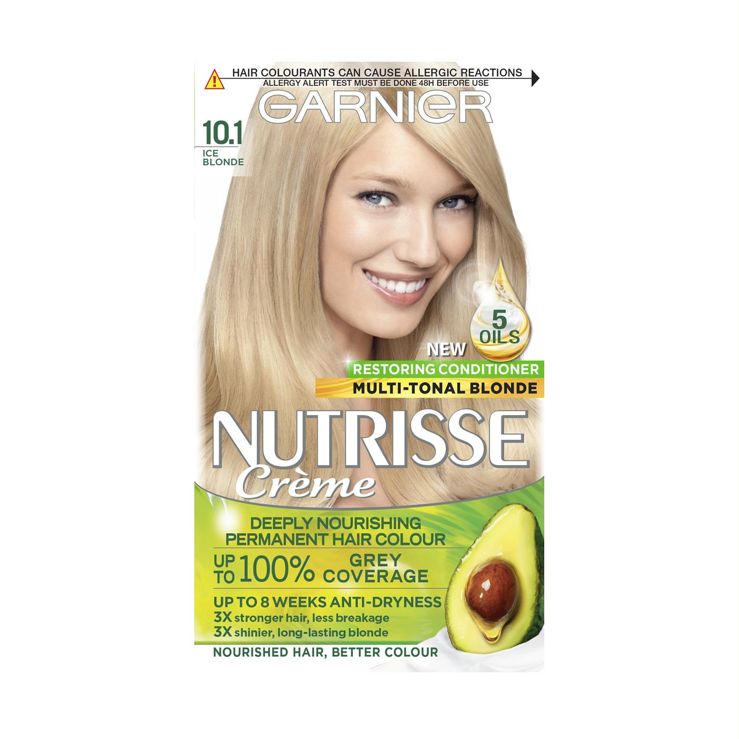 thumbnail 300 - 3 Pack Garnier Nutrisse Permanent Hair Dye With Different Shades
