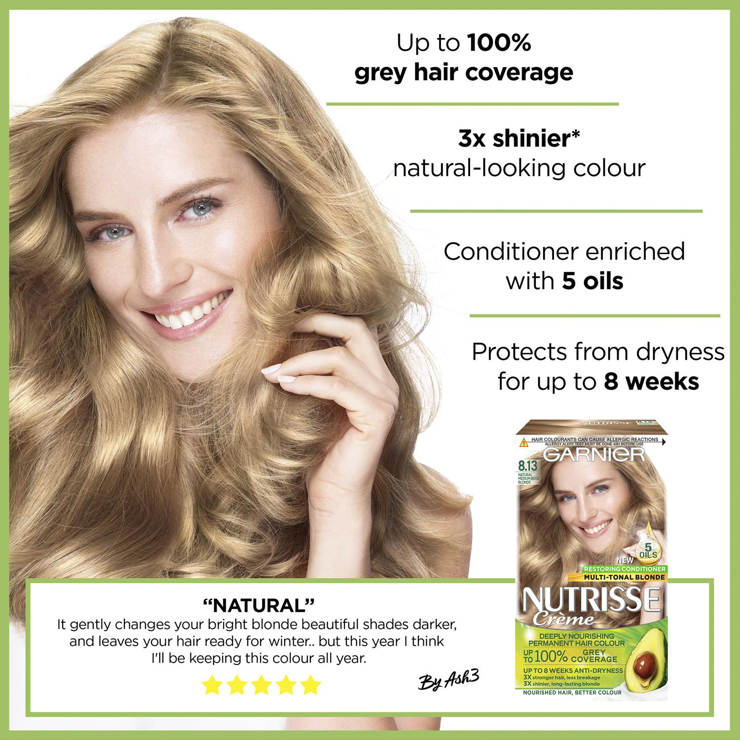 thumbnail 264 - 3 Pack Garnier Nutrisse Permanent Hair Dye With Different Shades