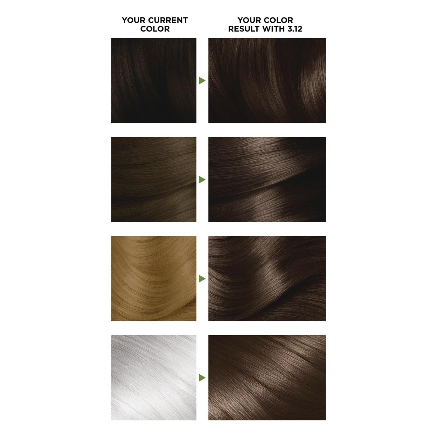 thumbnail 51 - 3 Pack Garnier Nutrisse Permanent Hair Dye With Different Shades