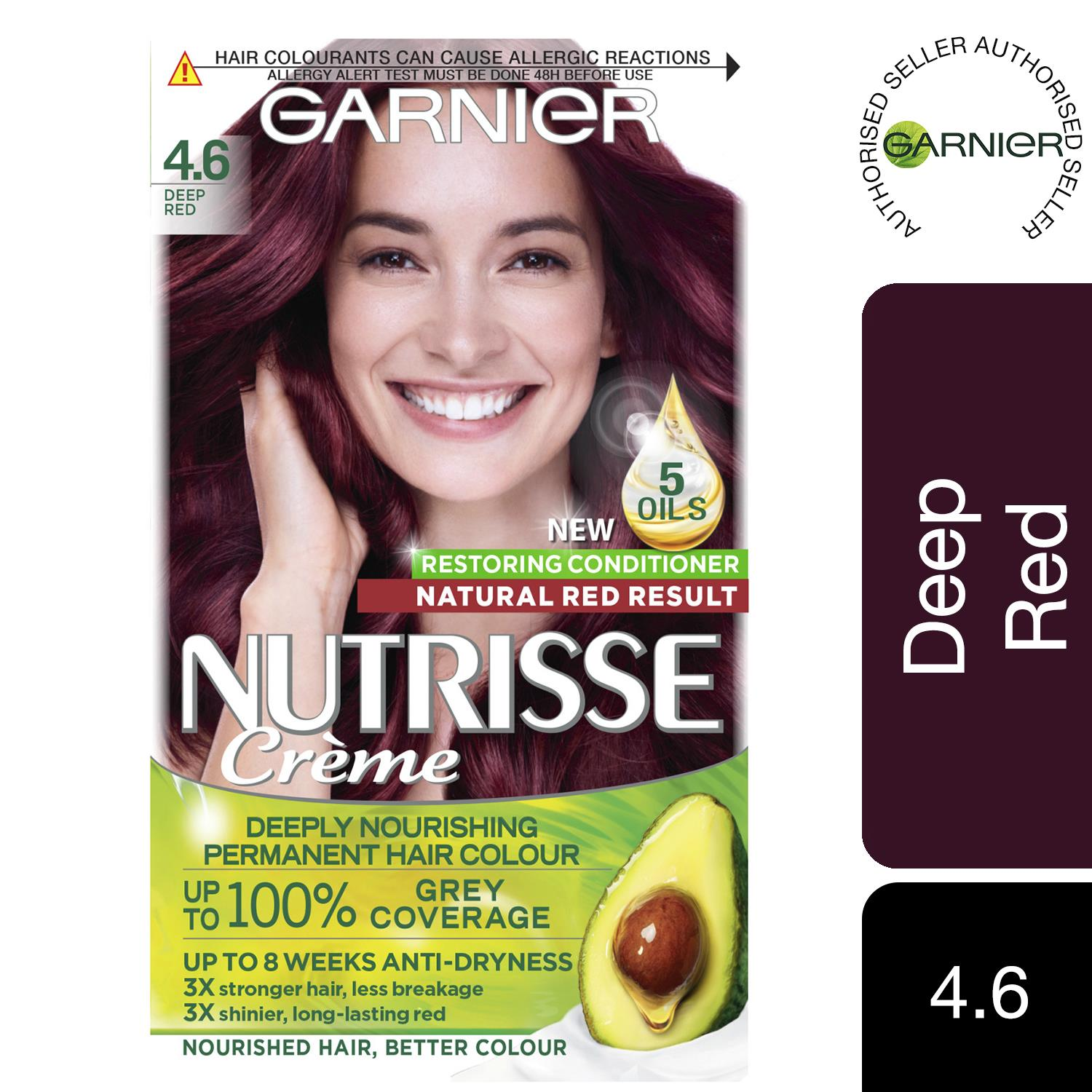 thumbnail 95 - 3 Pack Garnier Nutrisse Permanent Hair Dye With Different Shades