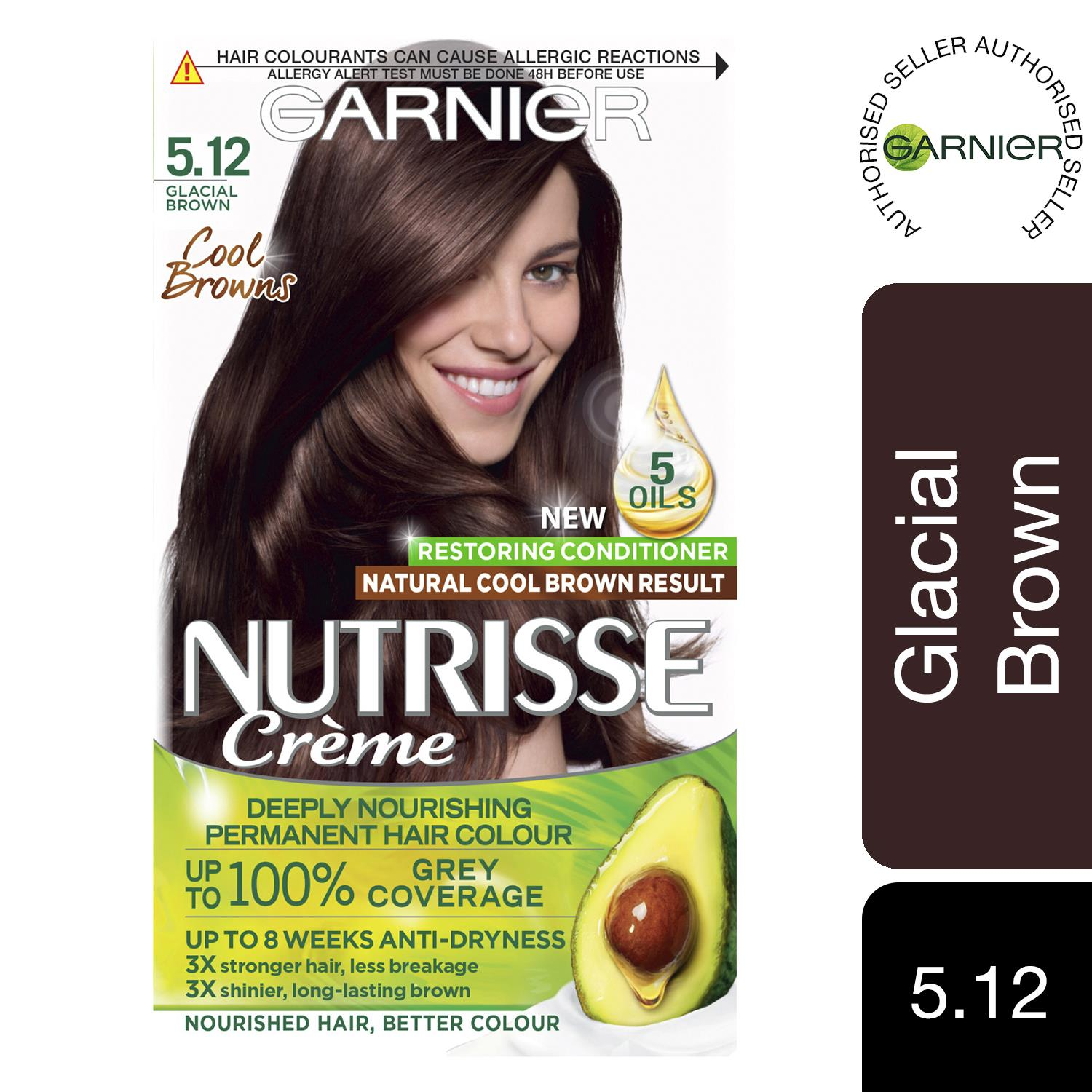 thumbnail 135 - 3 Pack Garnier Nutrisse Permanent Hair Dye With Different Shades