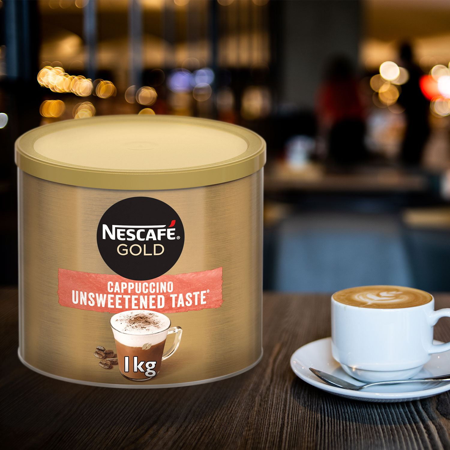 thumbnail 17 - Nescafe Gold Instant Coffee Granules 1kg Cappuccino or Latte, Low Sugar
