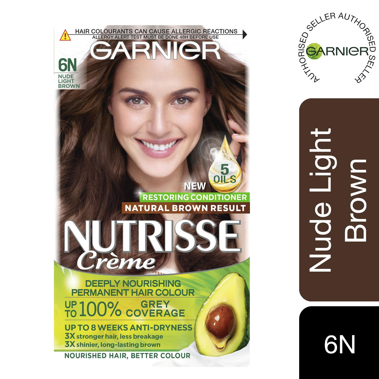thumbnail 213 - 3 Pack Garnier Nutrisse Permanent Hair Dye With Different Shades