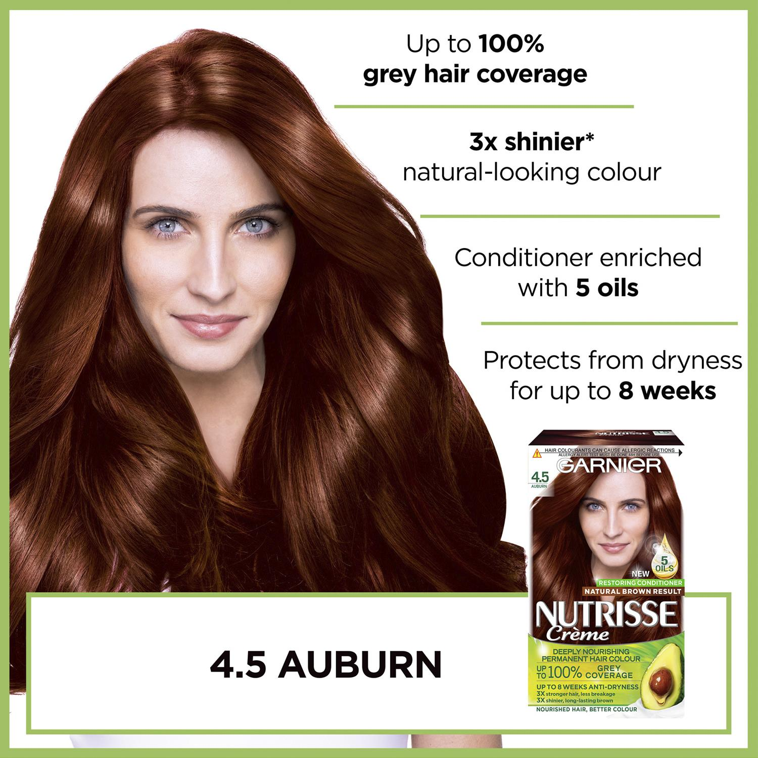 thumbnail 93 - 3 Pack Garnier Nutrisse Permanent Hair Dye With Different Shades