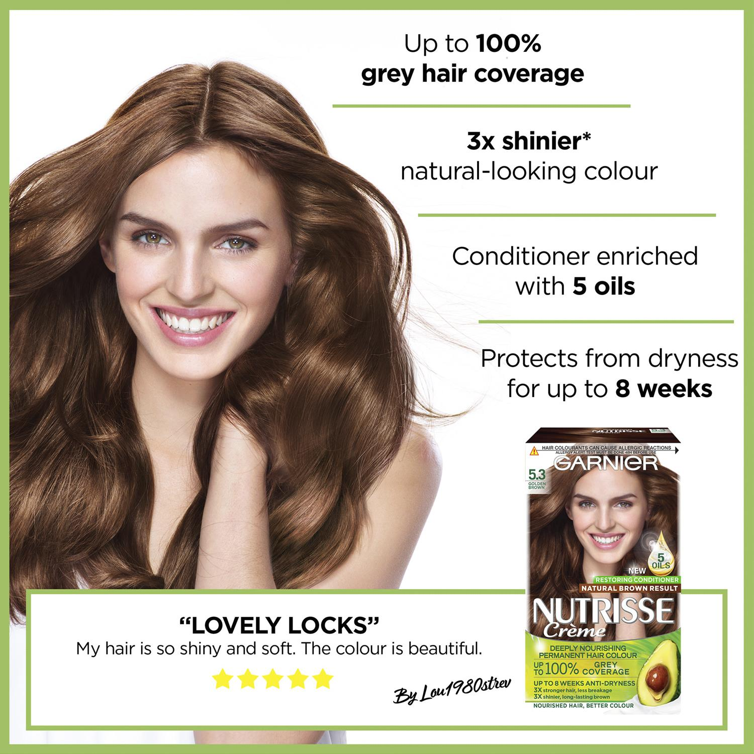 thumbnail 133 - 3 Pack Garnier Nutrisse Permanent Hair Dye With Different Shades