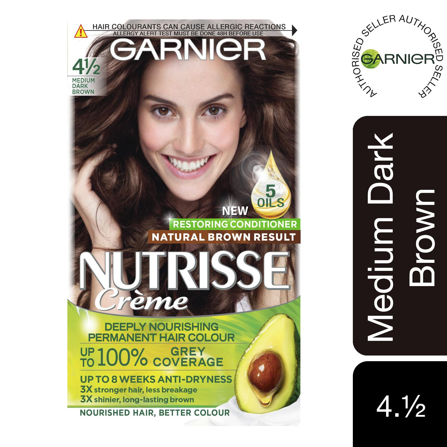 thumbnail 62 - 3 Pack Garnier Nutrisse Permanent Hair Dye With Different Shades
