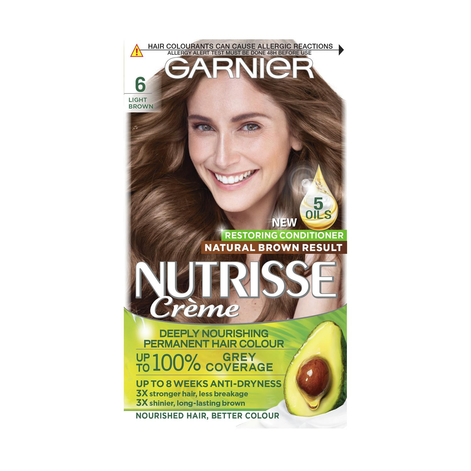 thumbnail 169 - 3 Pack Garnier Nutrisse Permanent Hair Dye With Different Shades