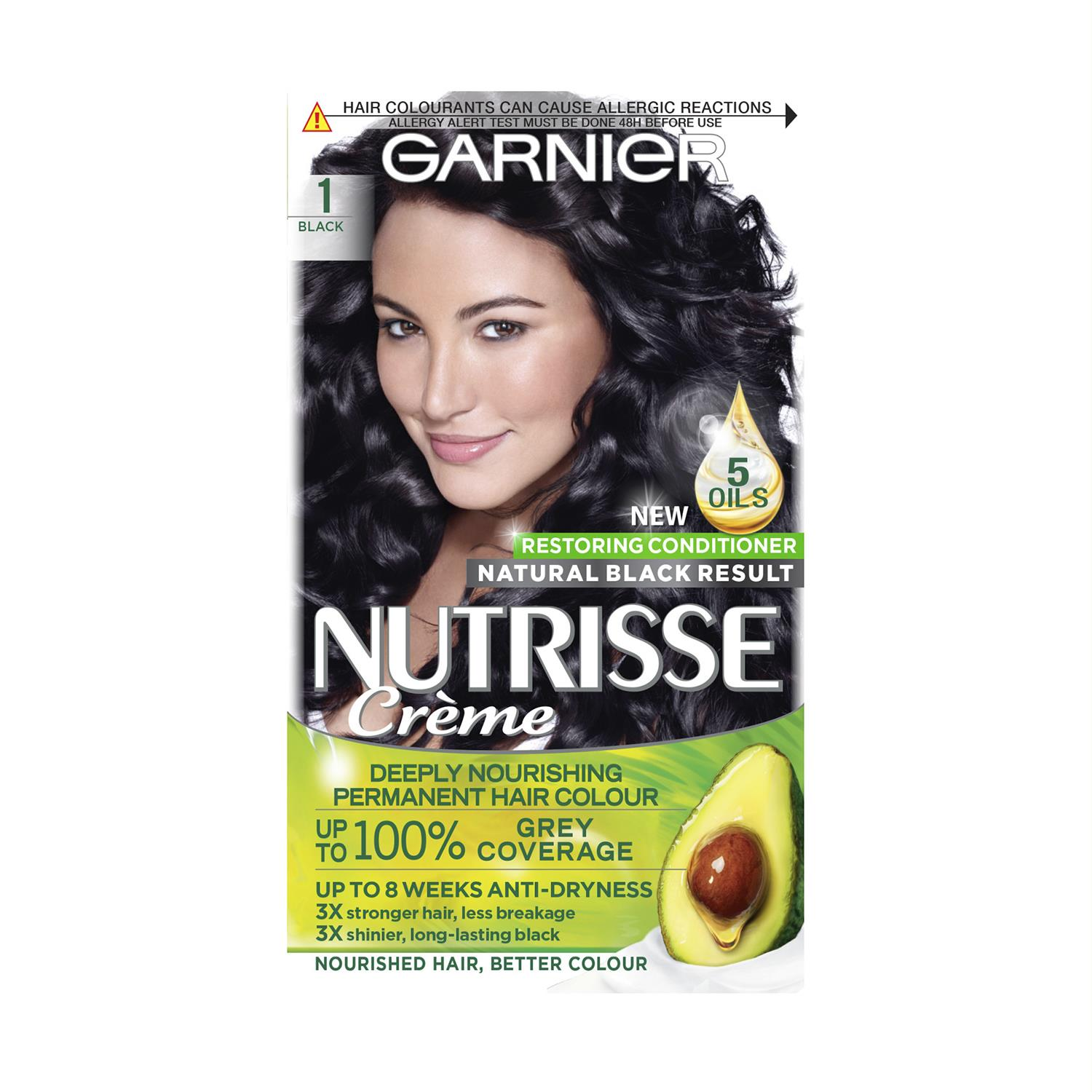 thumbnail 16 - 3 Pack Garnier Nutrisse Permanent Hair Dye With Different Shades